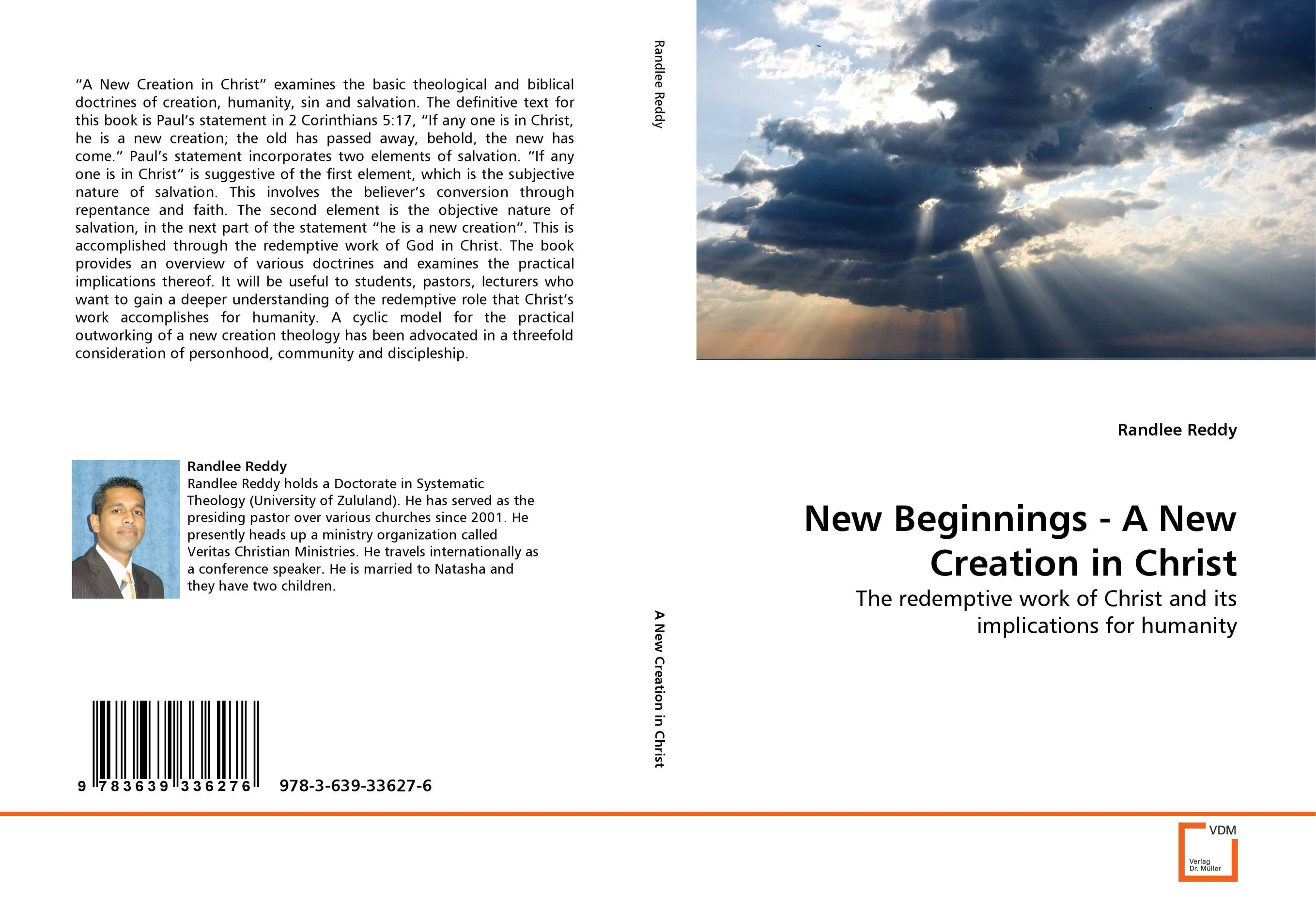 New Beginnings - A New Creation in Christ paul s use of early jewish wisdom in 1st corinthians