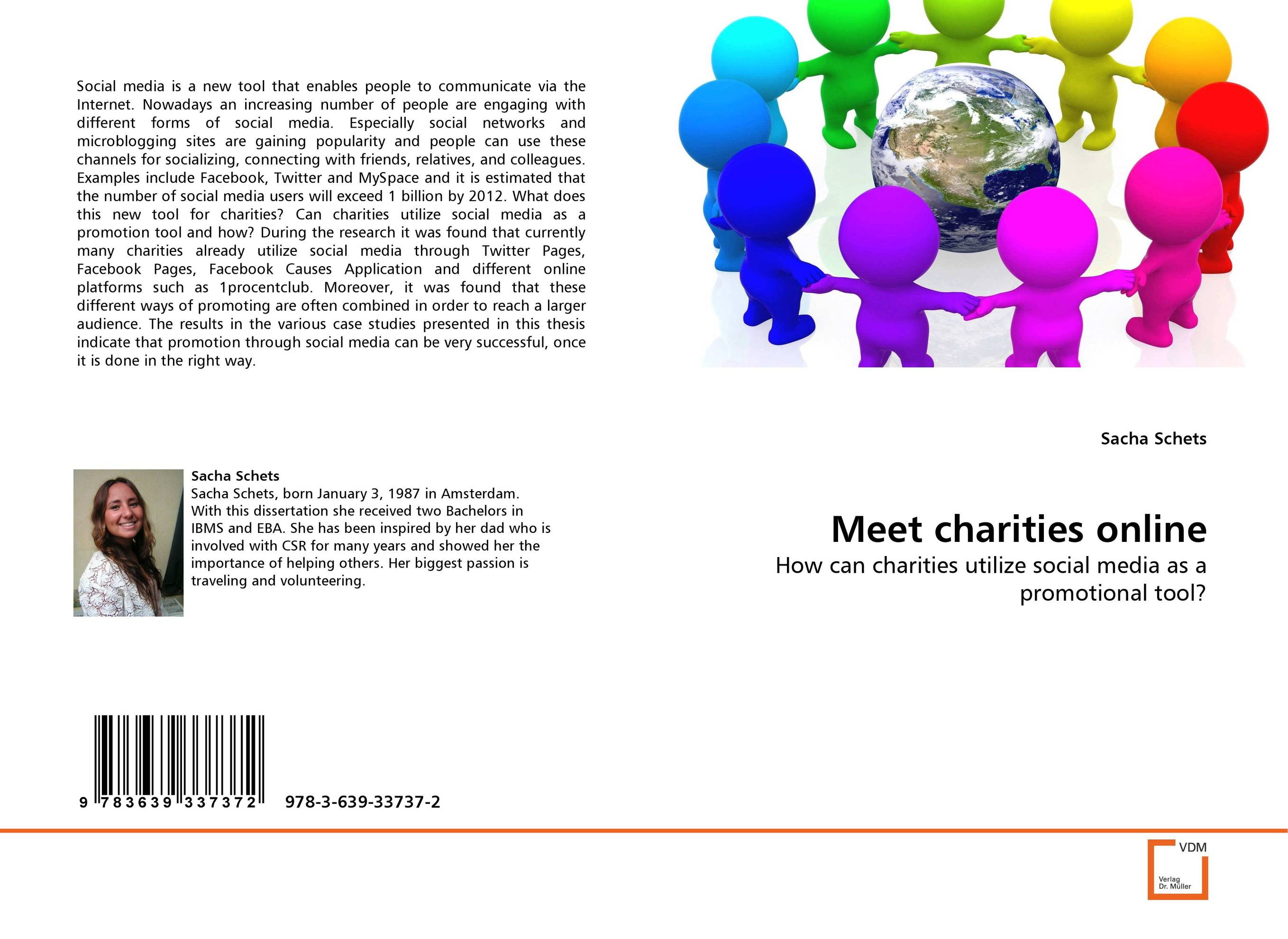 Meet charities online promotion mix strategies of icam through social media