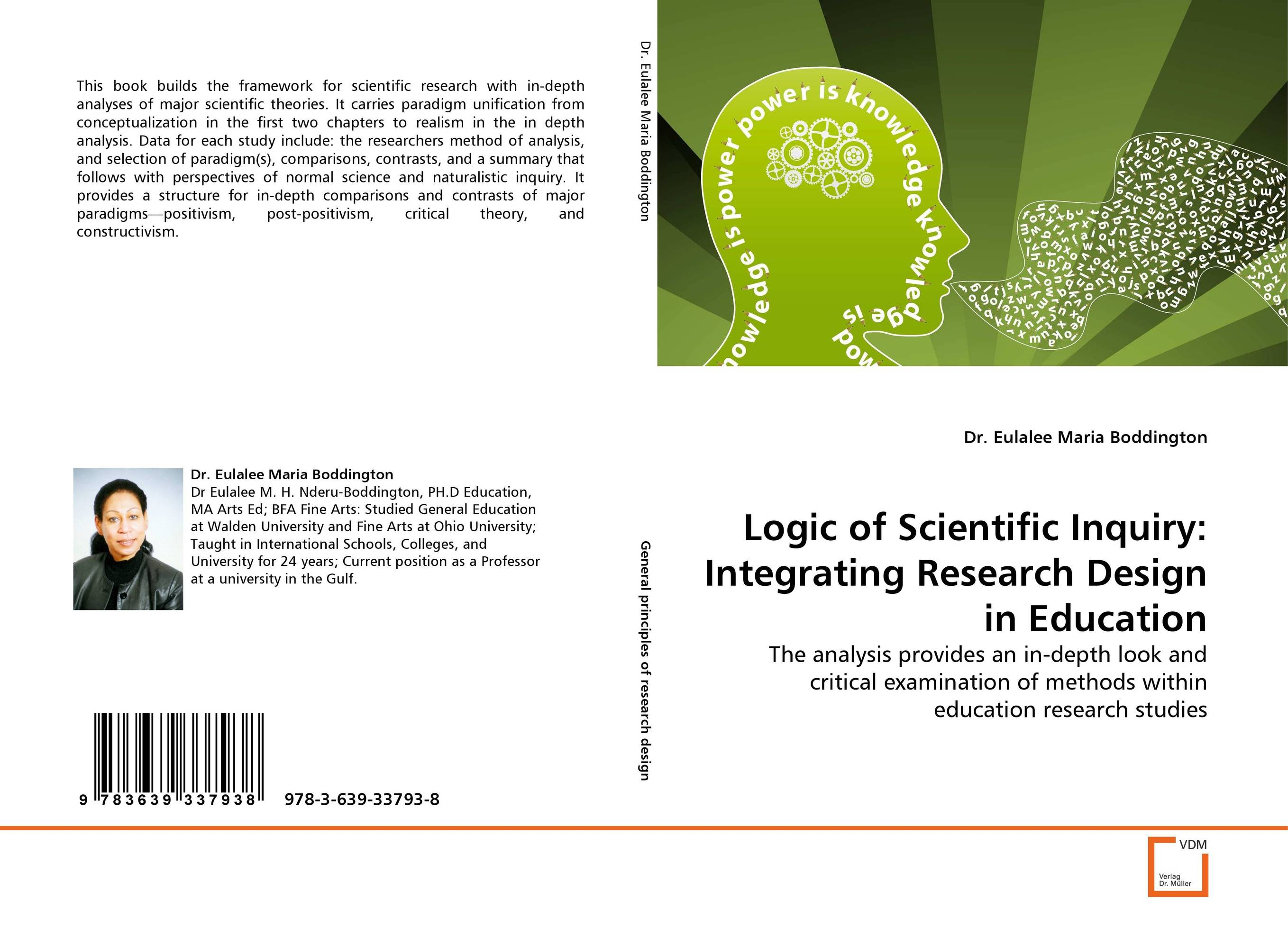 Logic of Scientific Inquiry: Integrating Research Design in Education scott pratt l logic inquiry argument and order