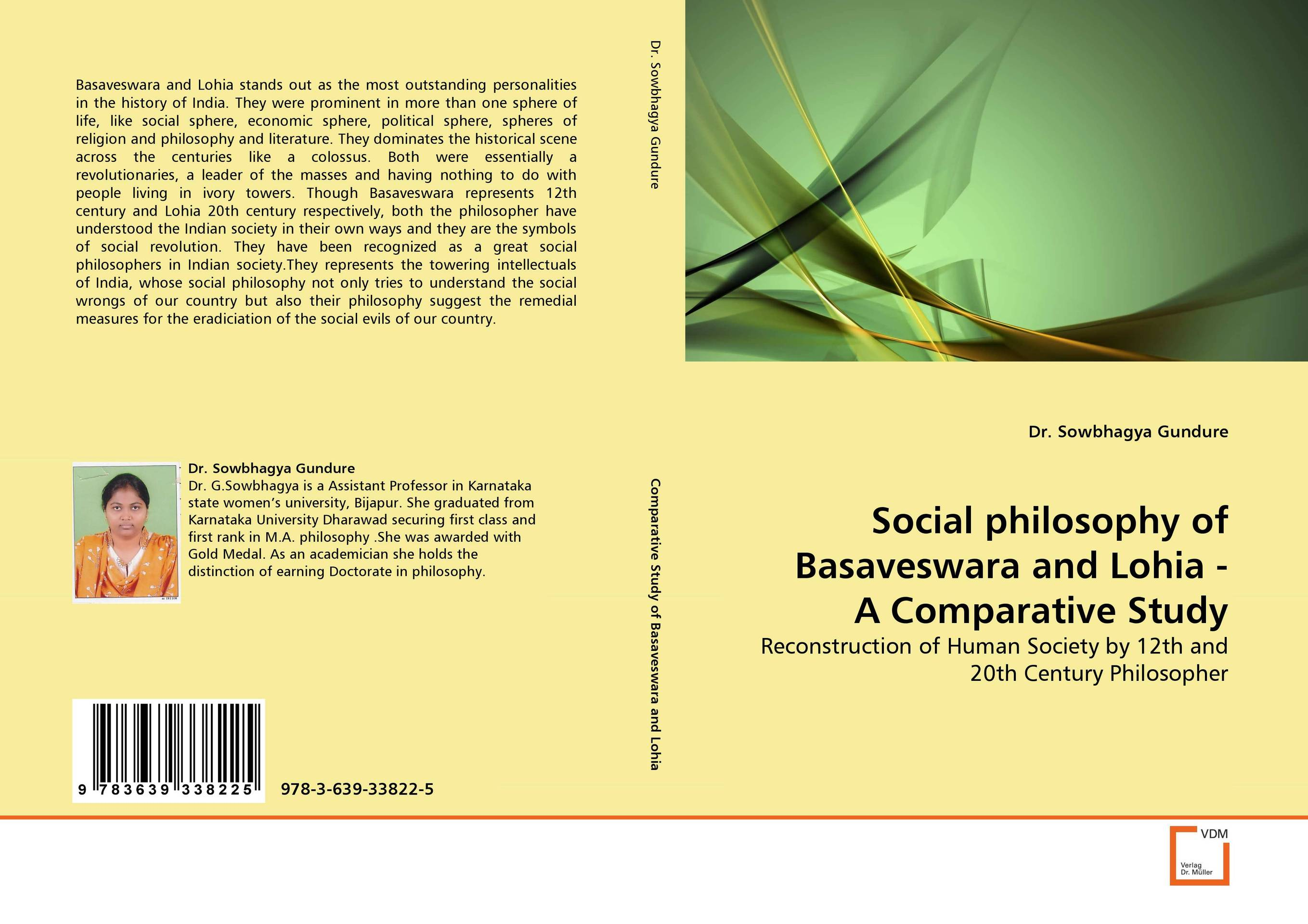 Social philosophy of Basaveswara and Lohia - A Comparative Study social housing in glasgow volume 2