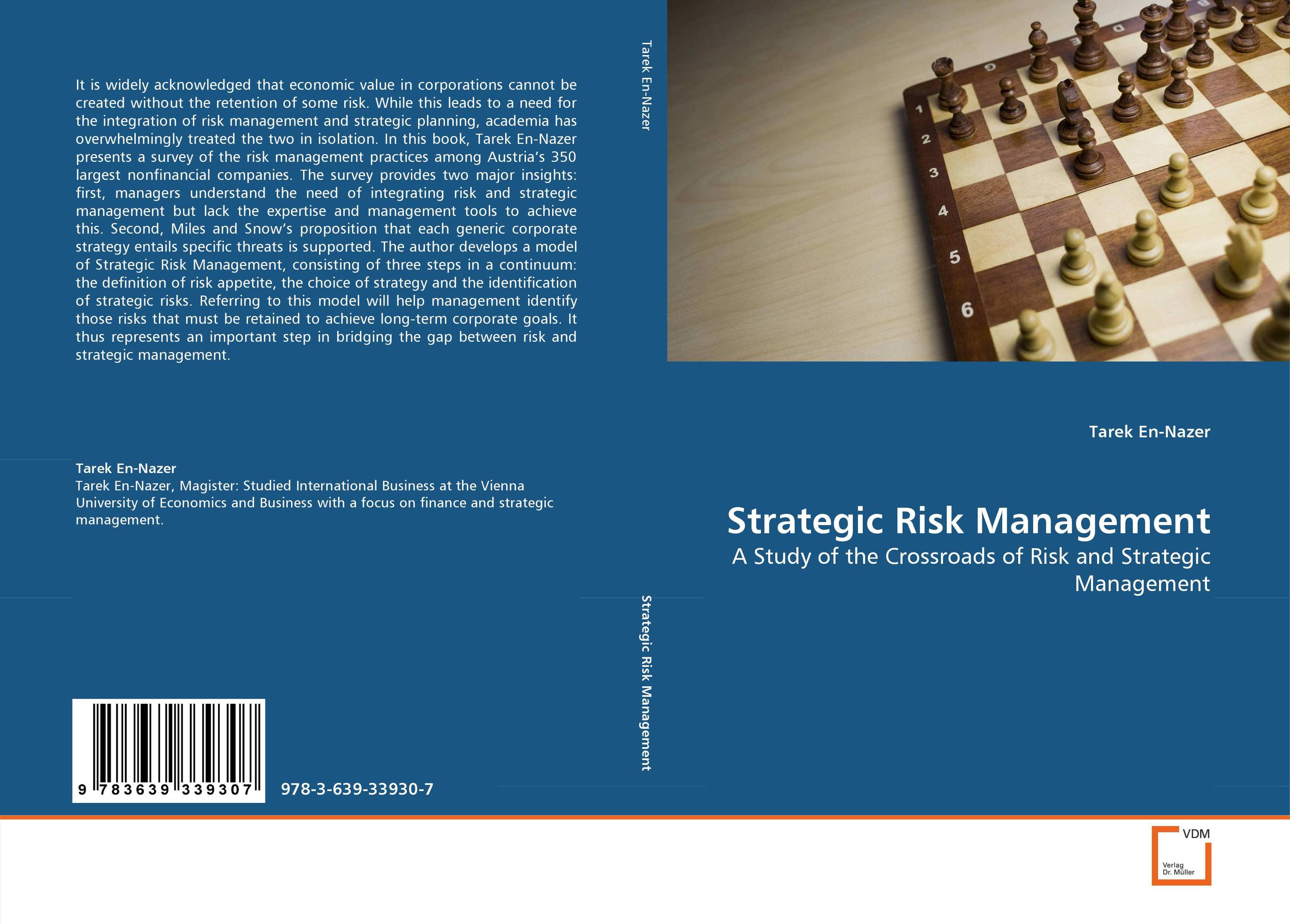 Strategic Risk Management risk regulation and administrative constitutionalism
