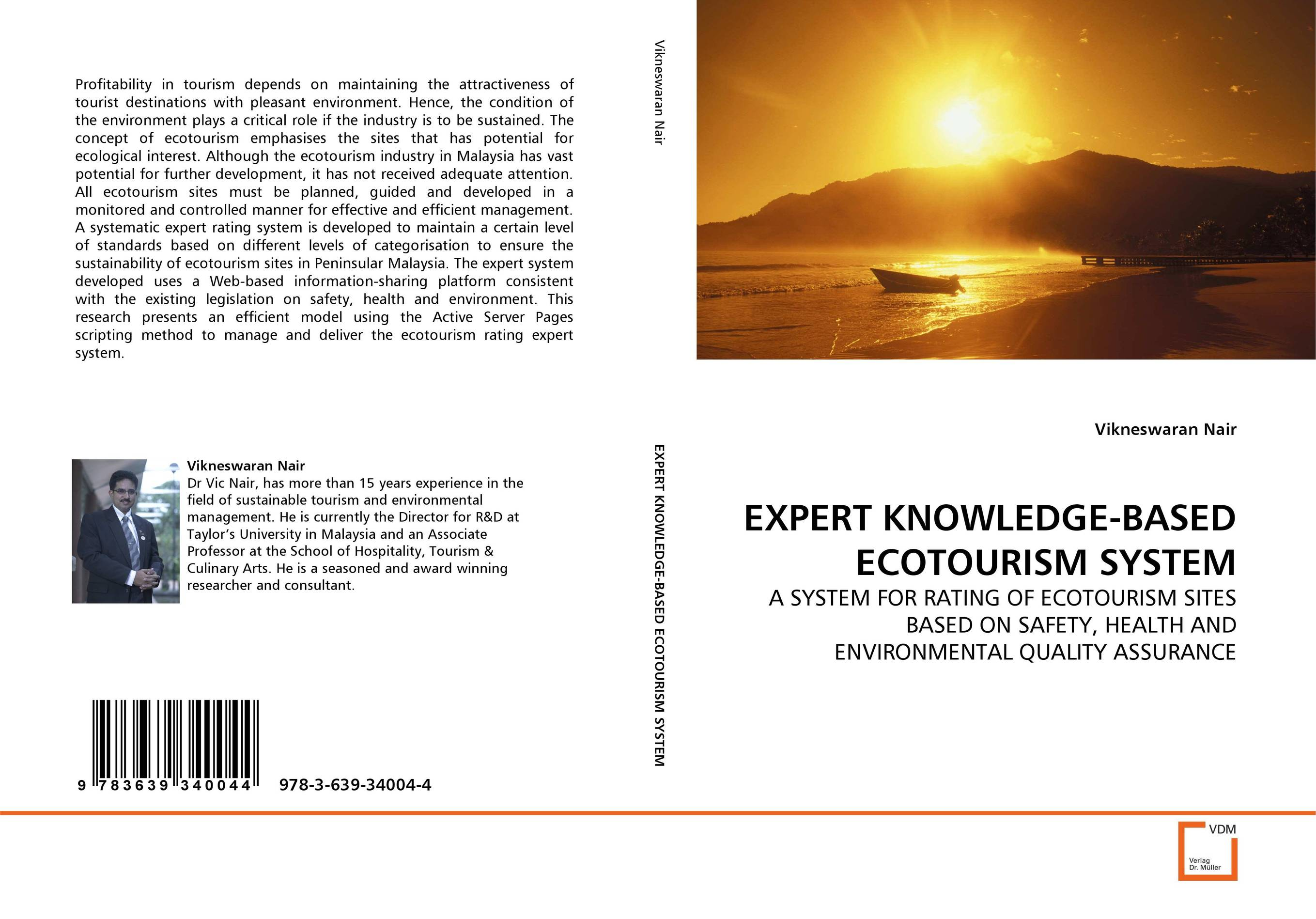 EXPERT KNOWLEDGE-BASED ECOTOURISM SYSTEM цена