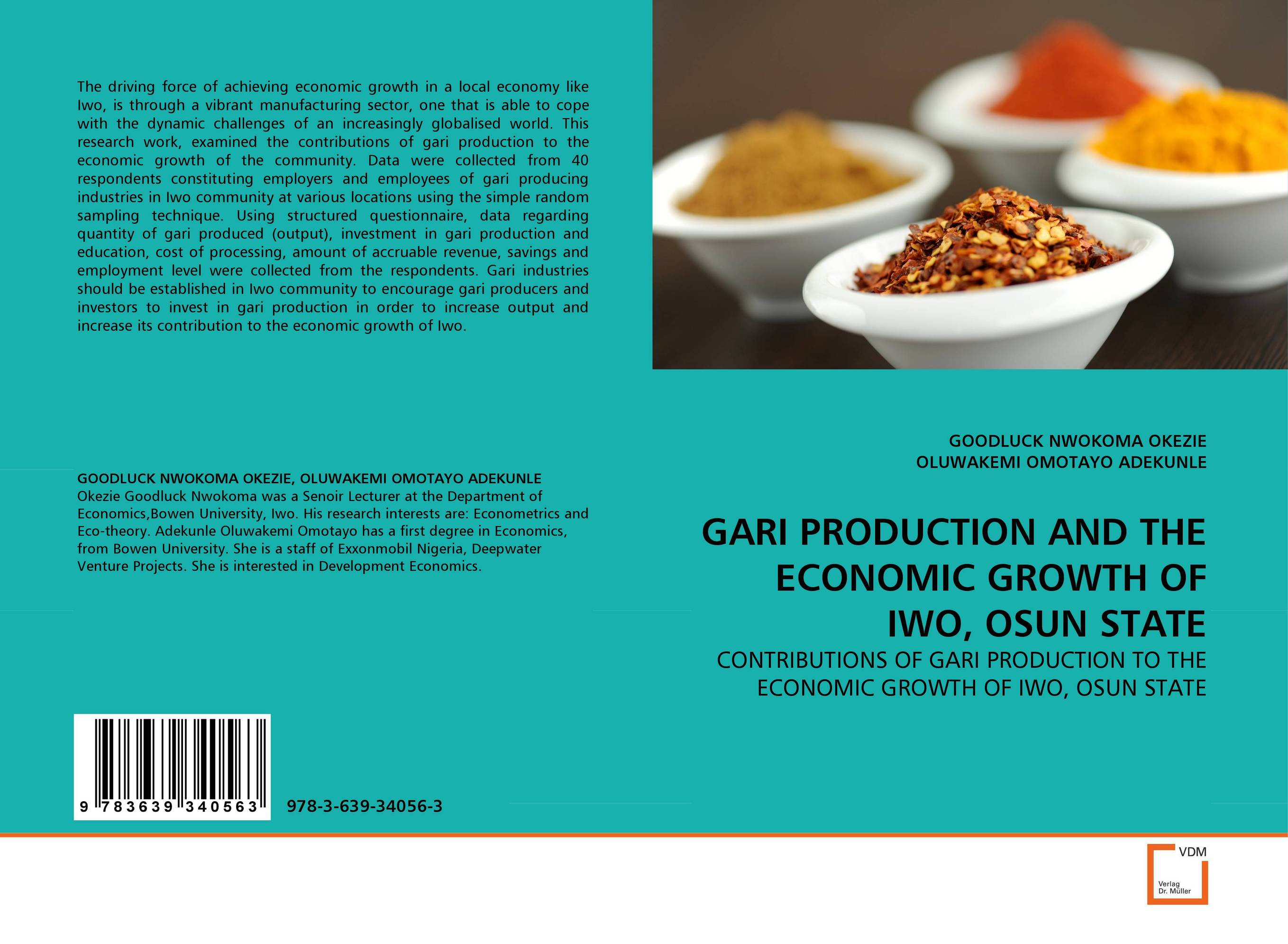 GARI PRODUCTION AND THE ECONOMIC GROWTH OF IWO, OSUN STATE adding value to the citrus pulp by enzyme biotechnology production