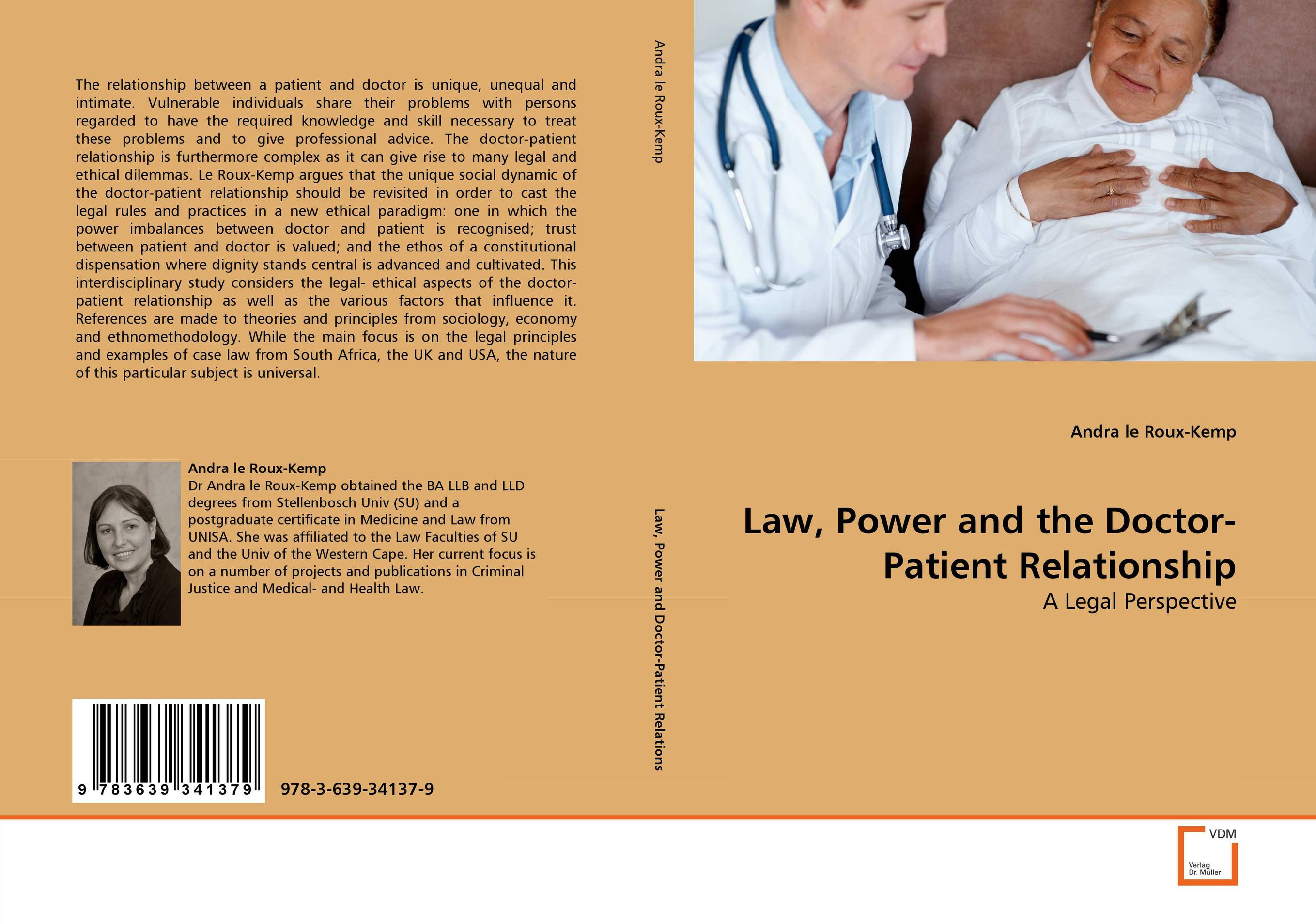 Law, Power and the Doctor-Patient Relationship an ethical and legal analysis of south african medical schemes