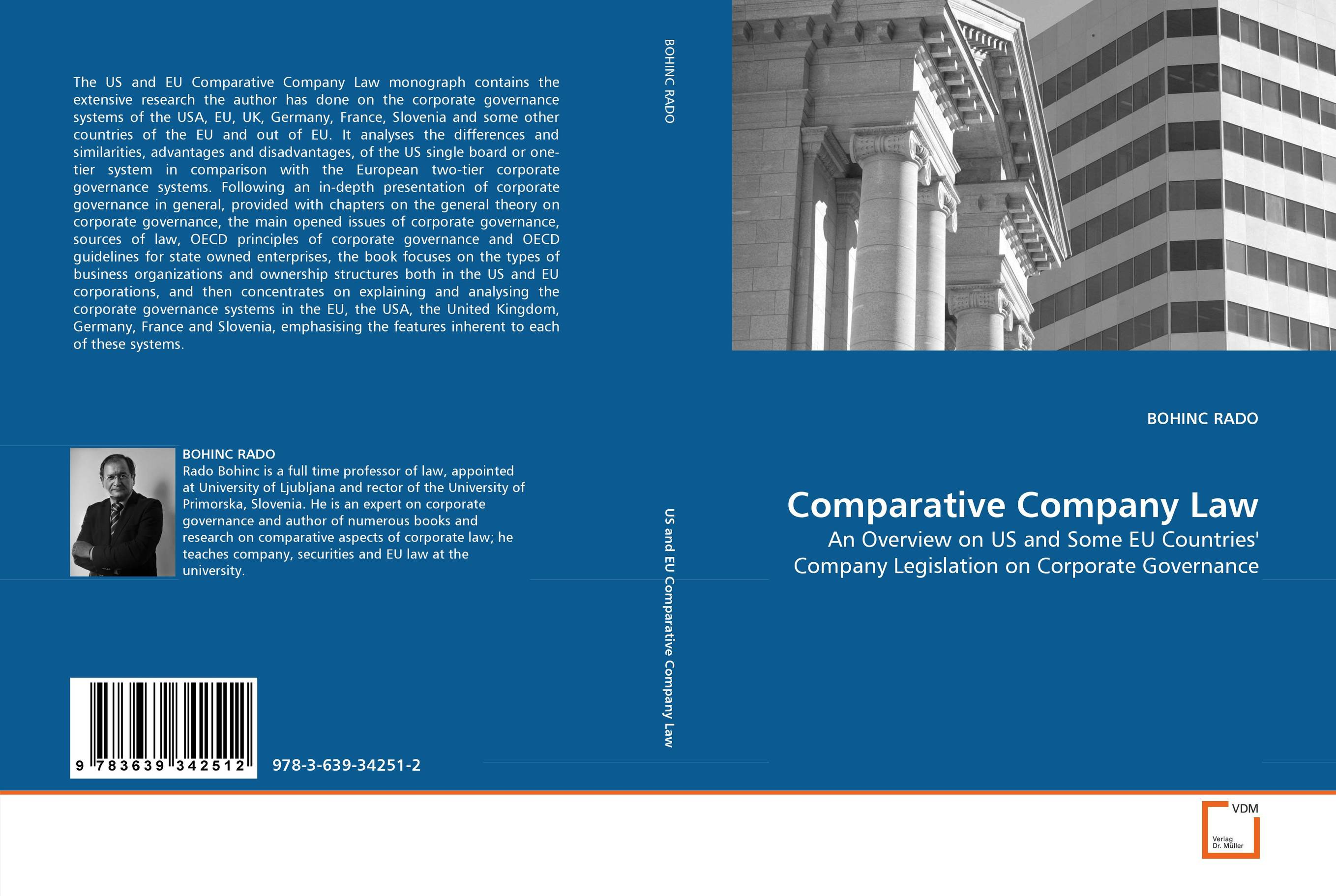 Comparative Company Law patrycja dabrowska eu governance of gmos