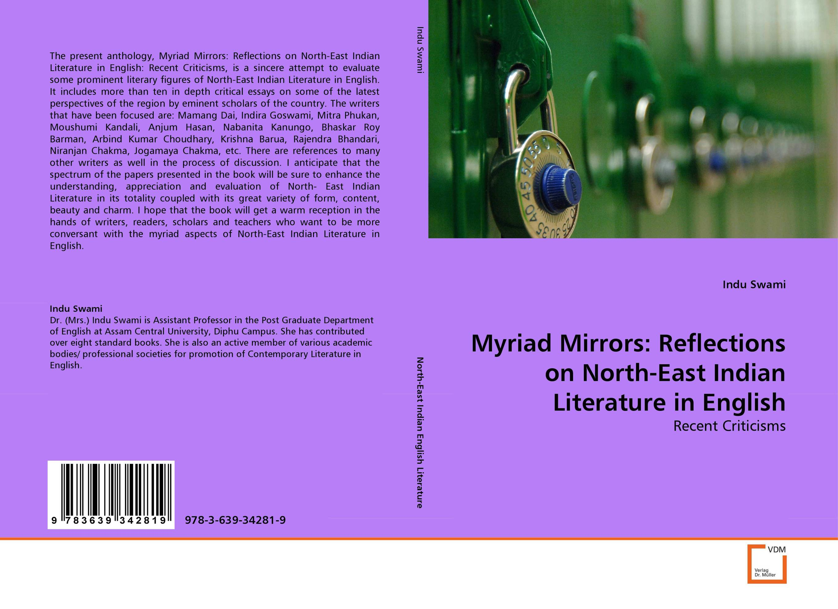 Myriad Mirrors: Reflections on North-East Indian Literature in English sivalingam jayakumar avtar singh and dinesh kumar molecular characterization of sry gene in murrah buffaloes