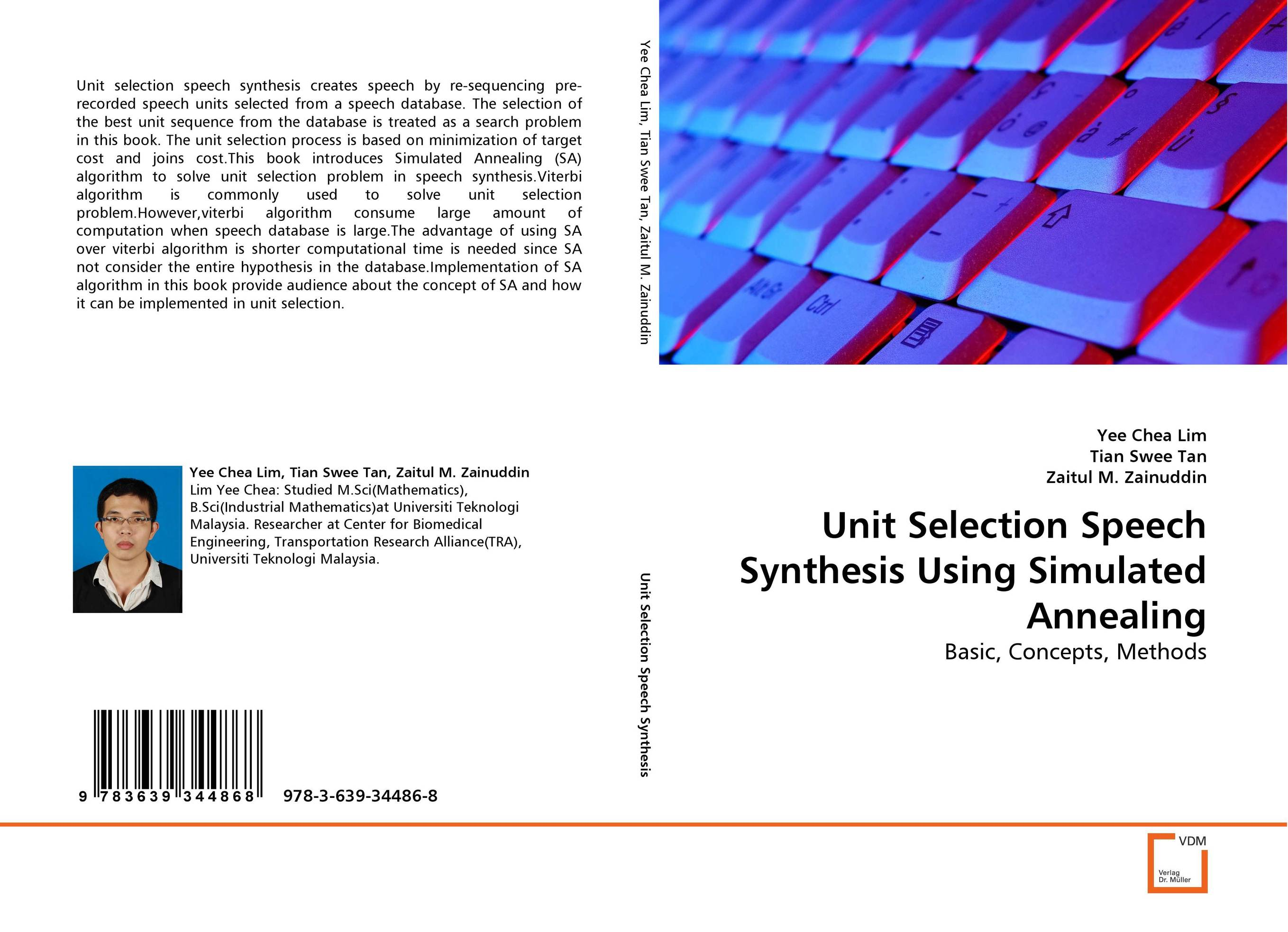Unit Selection Speech Synthesis Using Simulated Annealing the selection