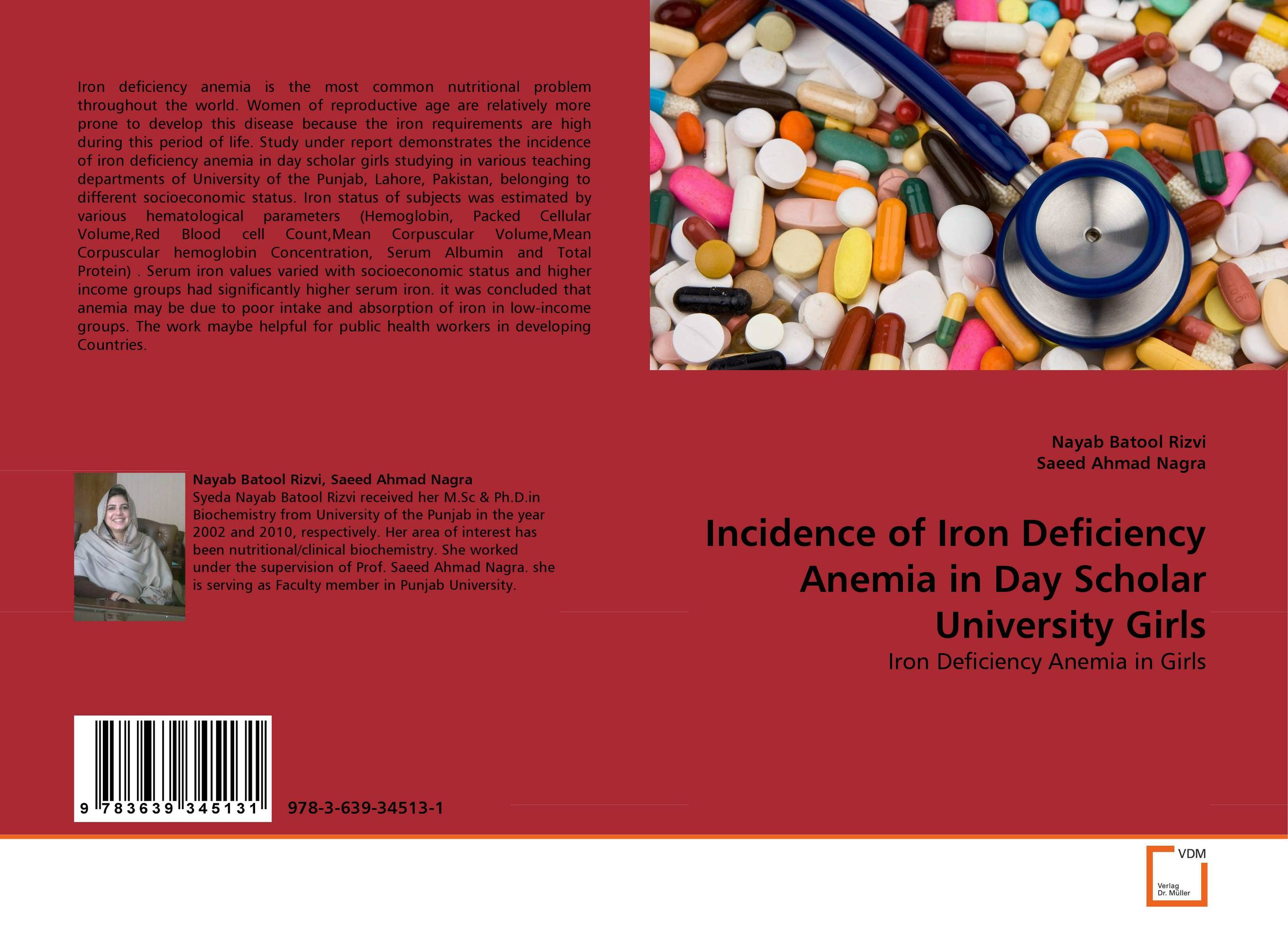 Incidence of Iron Deficiency Anemia in Day Scholar University Girls incidence of iron deficiency anemia in day scholar university girls