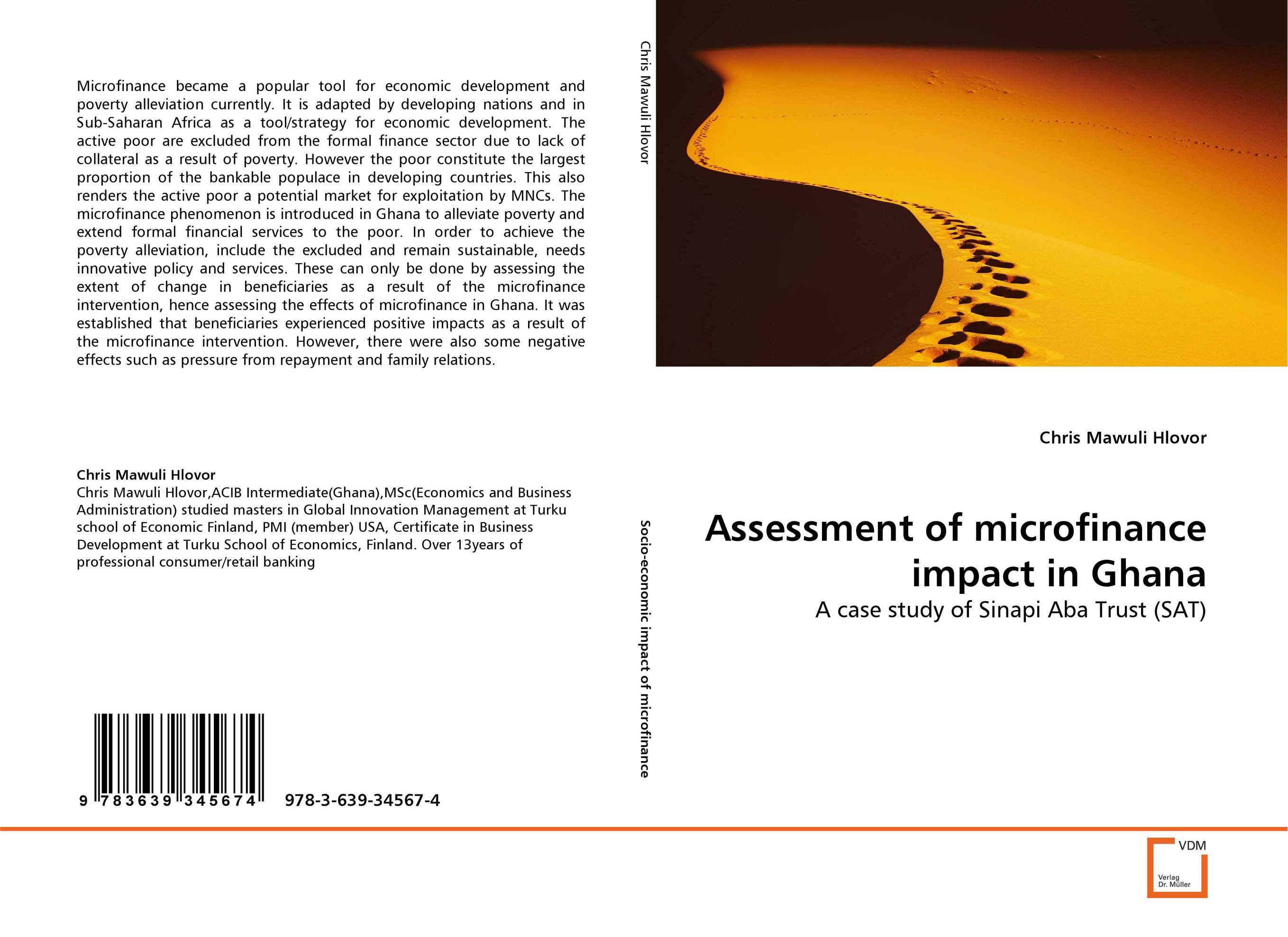 Assessment of microfinance impact in Ghana supervised delivery services in ghana
