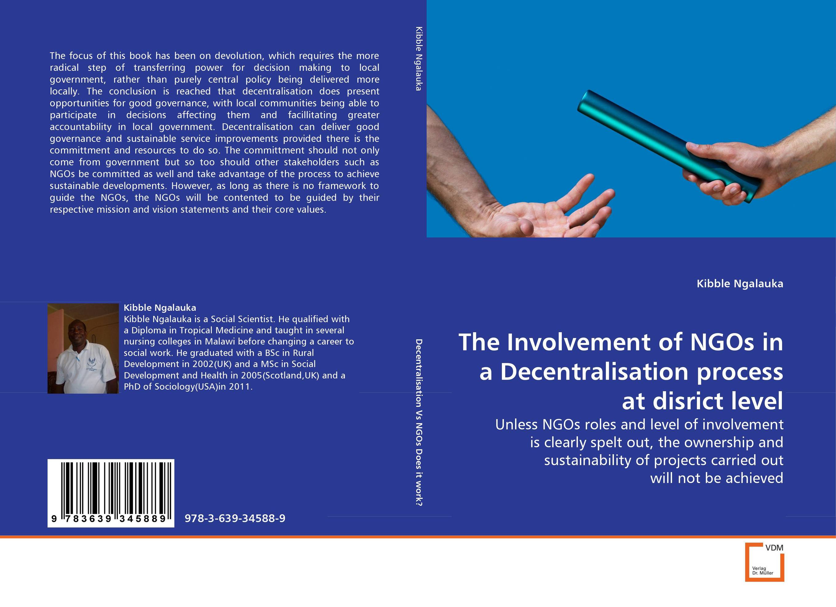 The Involvement of NGOs in a Decentralisation process at disrict level ngos