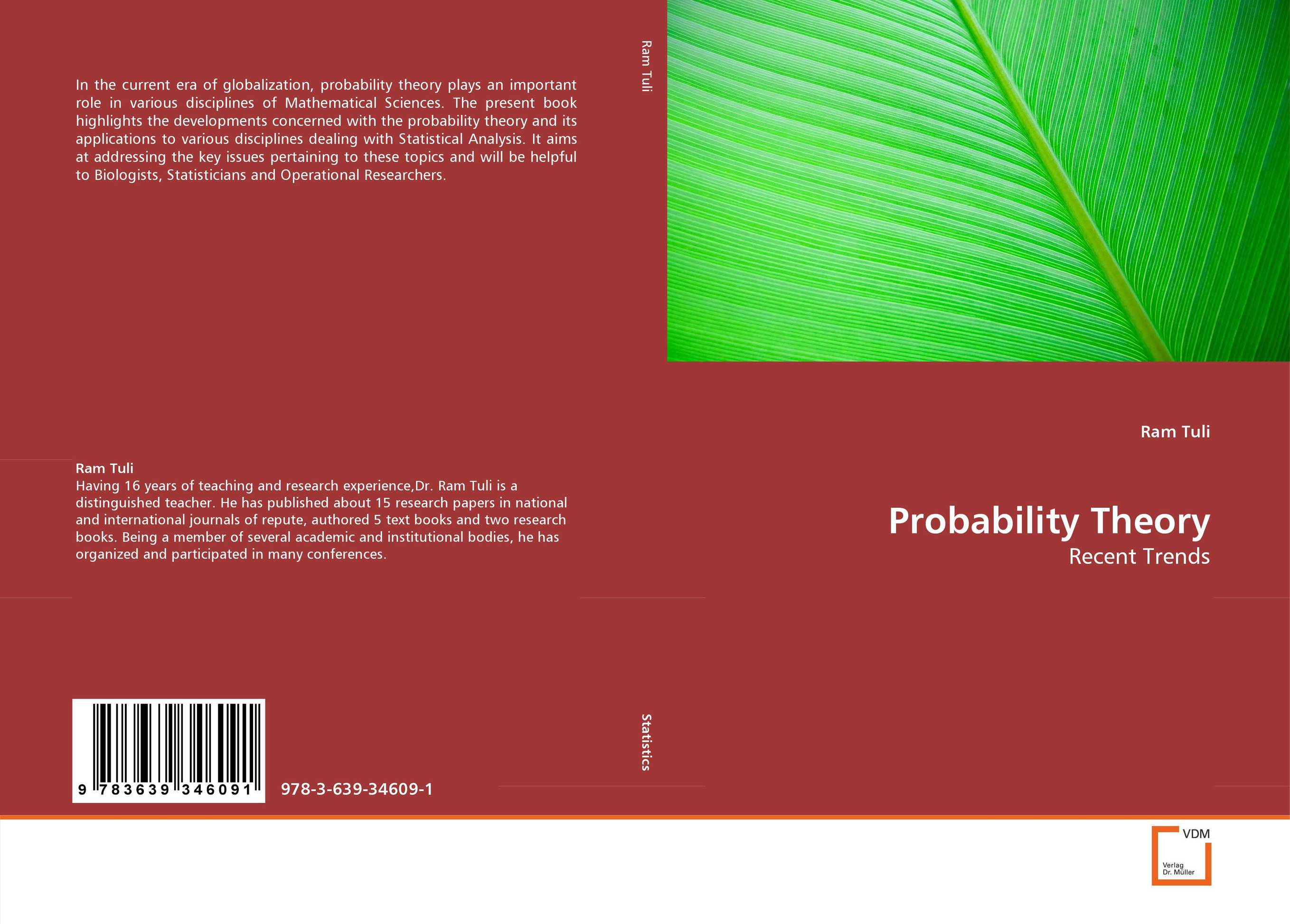Probability Theory dongcheol kim modern portfolio theory foundations analysis and new developments