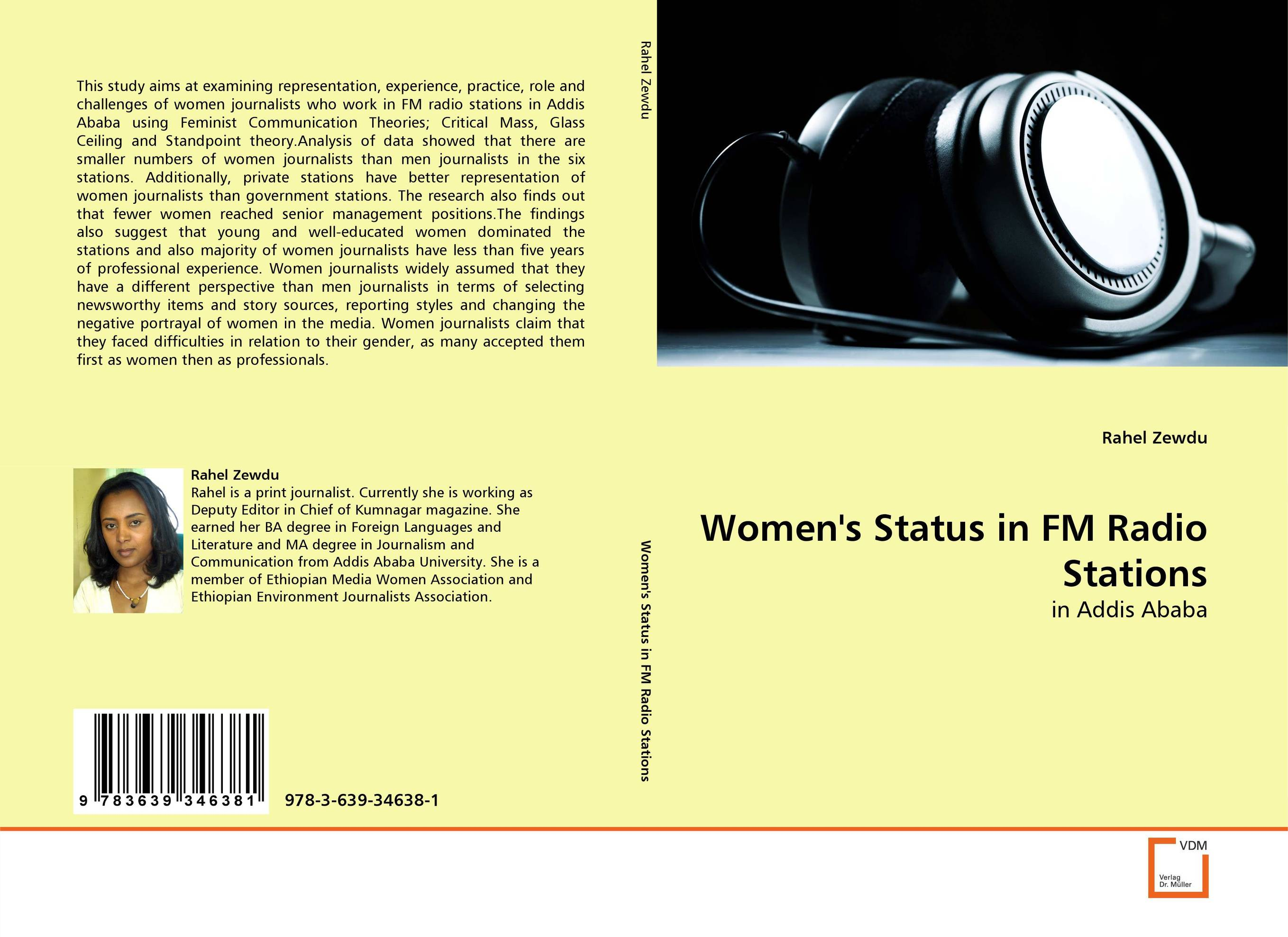 Women''s Status in FM Radio Stations annual report of the office of experiment stations