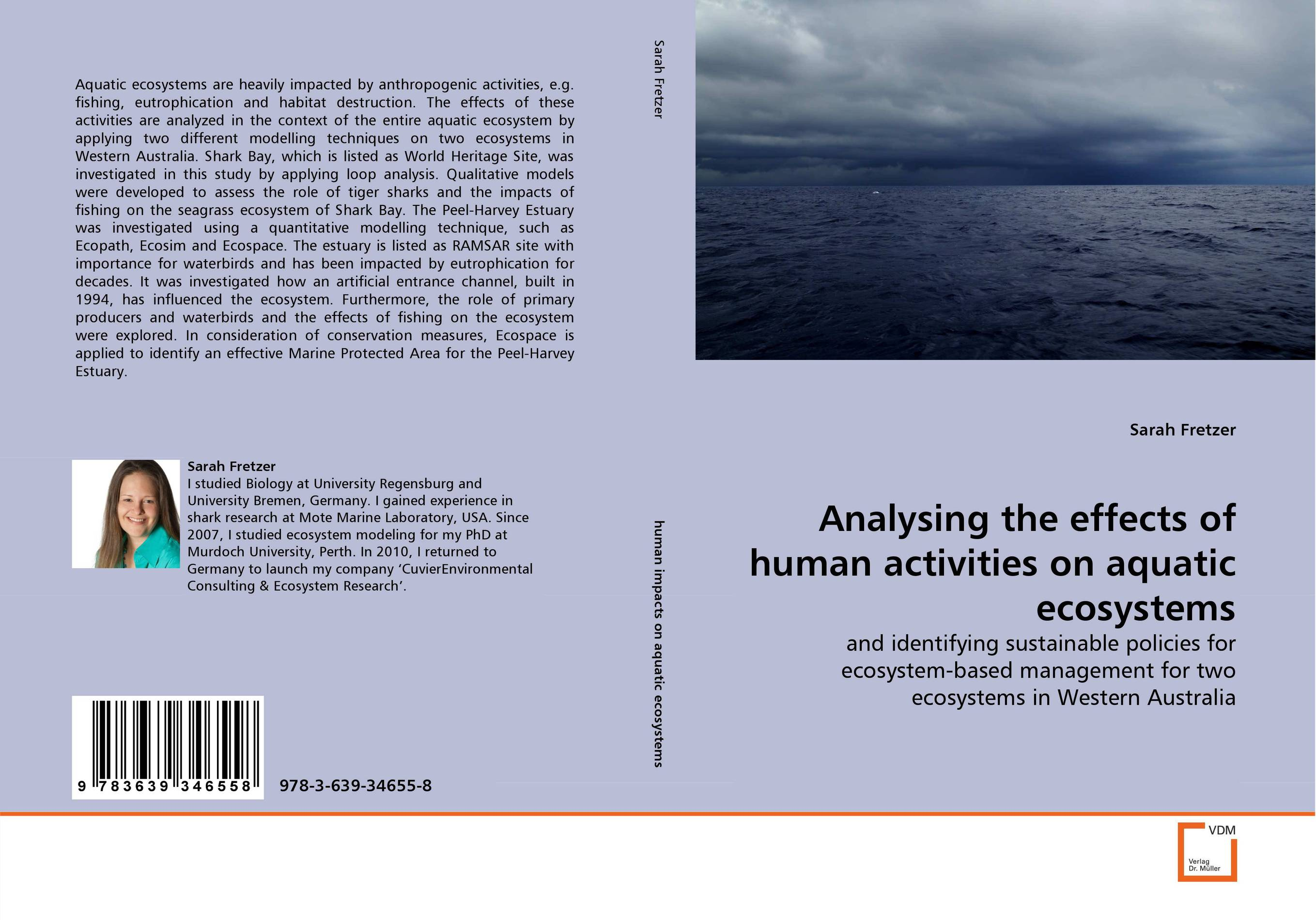 Analysing the effects of human activities on aquatic ecosystems