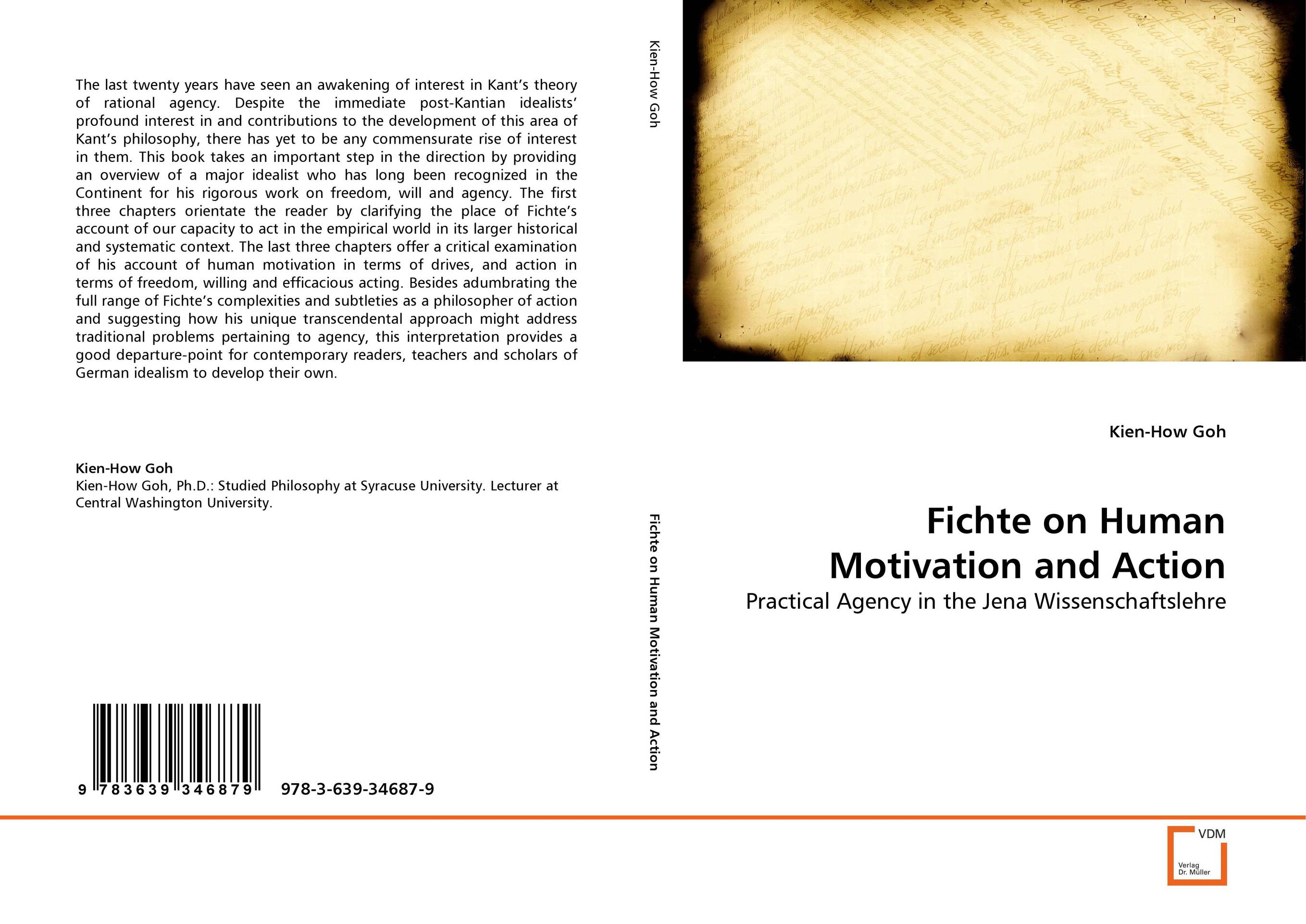 Fichte on Human Motivation and Action