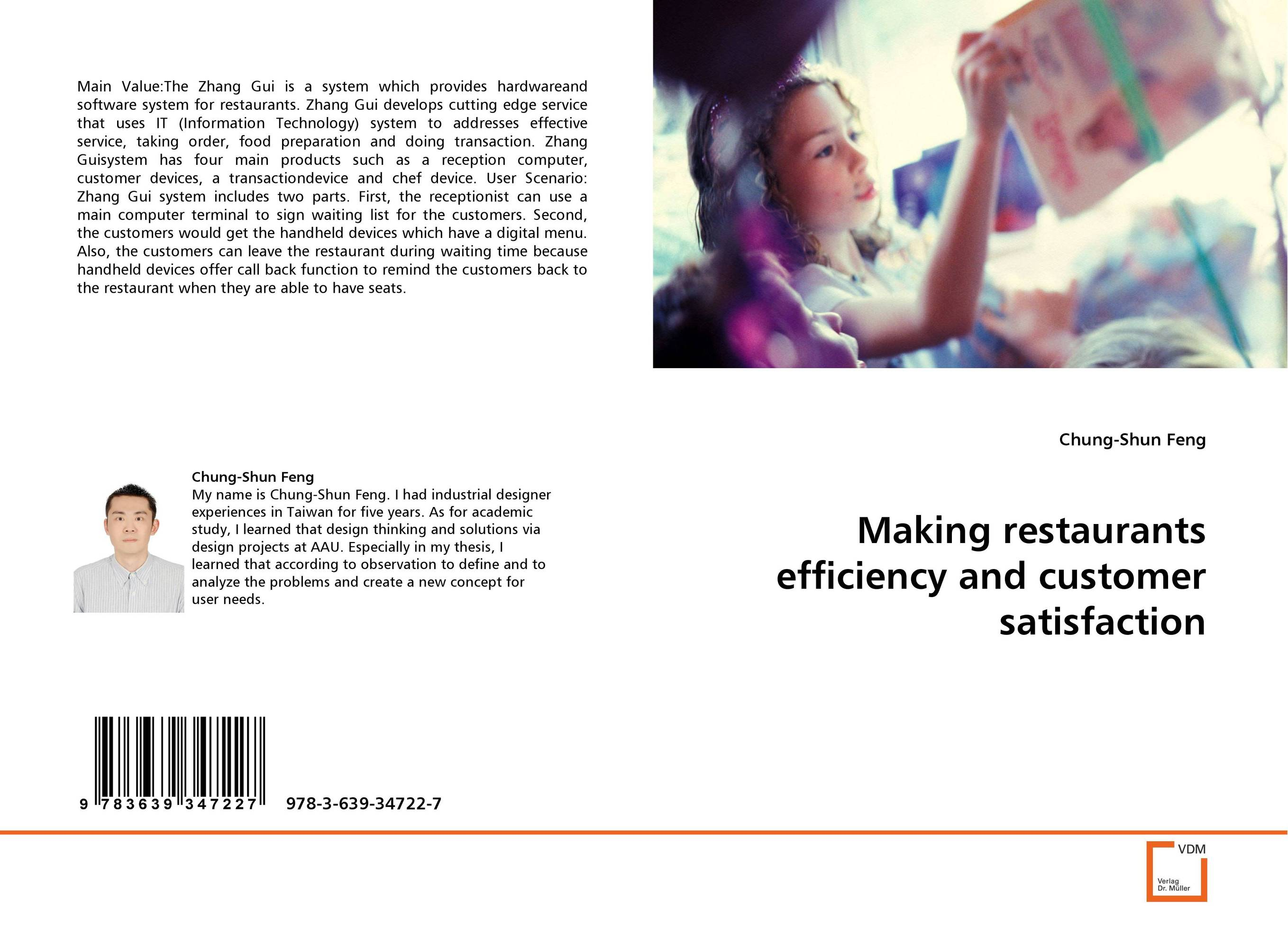 Making restaurants efficiency and customer satisfaction