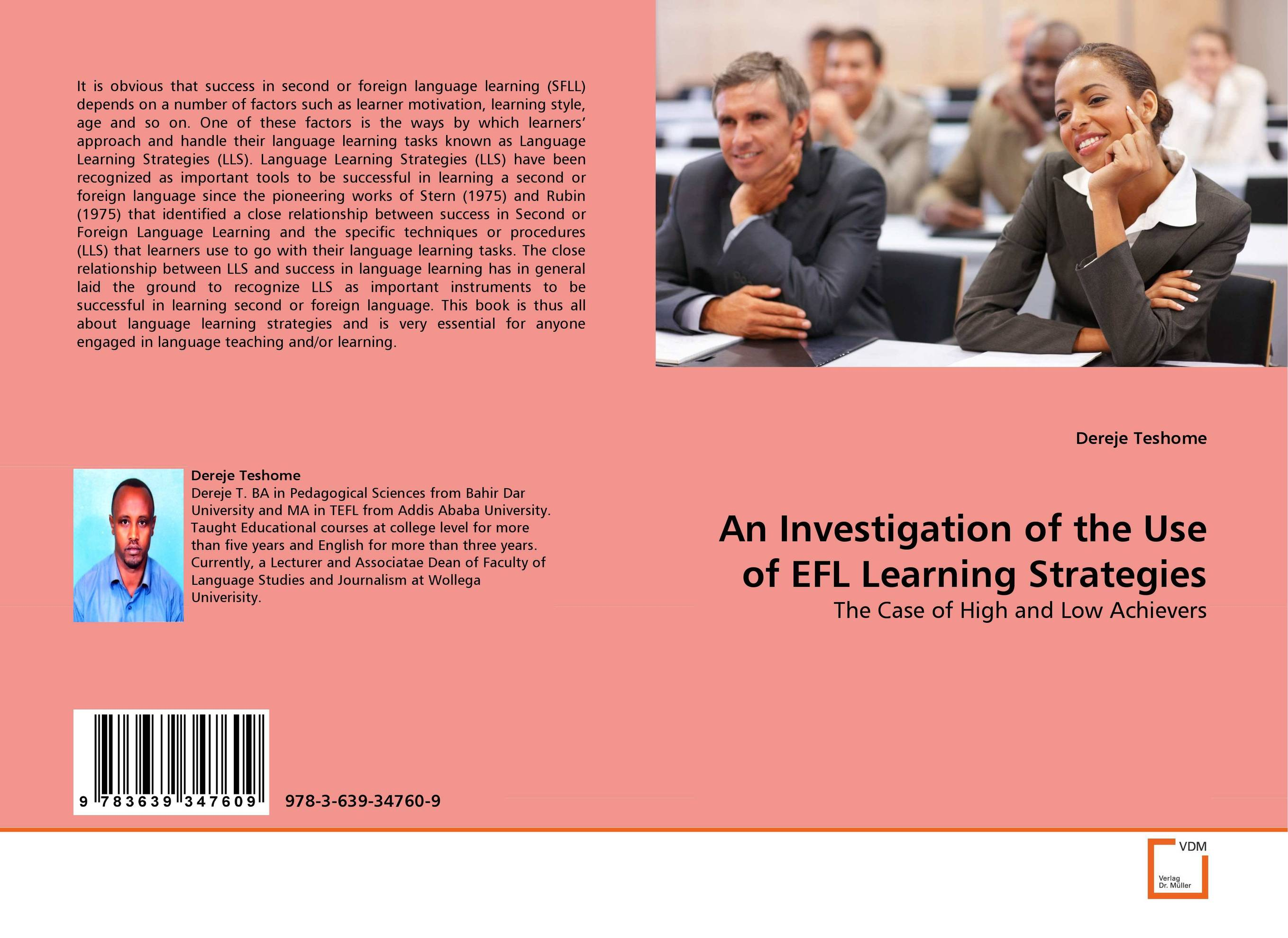 An Investigation of the Use of EFL Learning Strategies valeriy zhiglov learning telepathy in 10 minutes