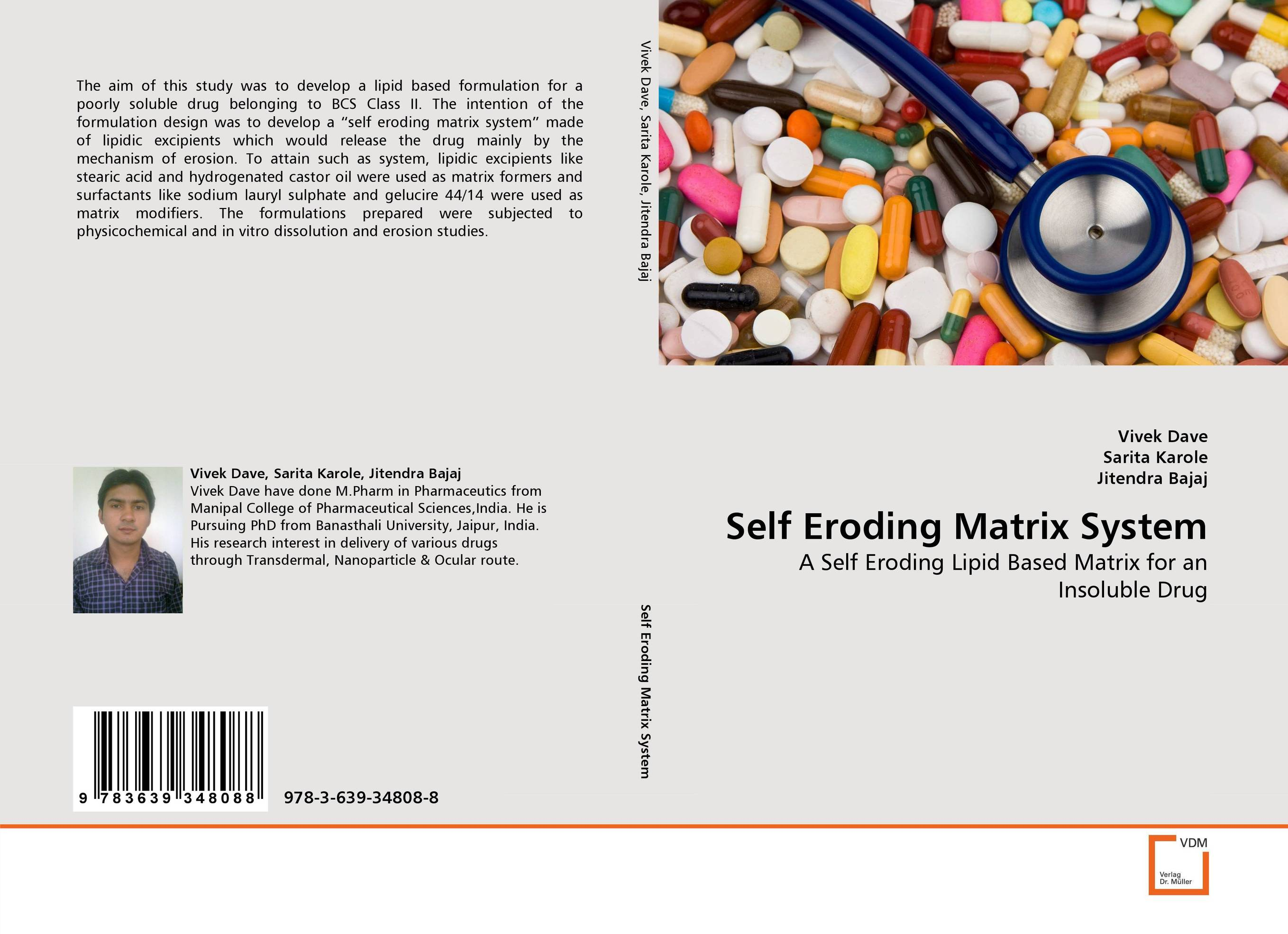 Self Eroding Matrix System excipients used in the design of lipidic and polymeric microspheres