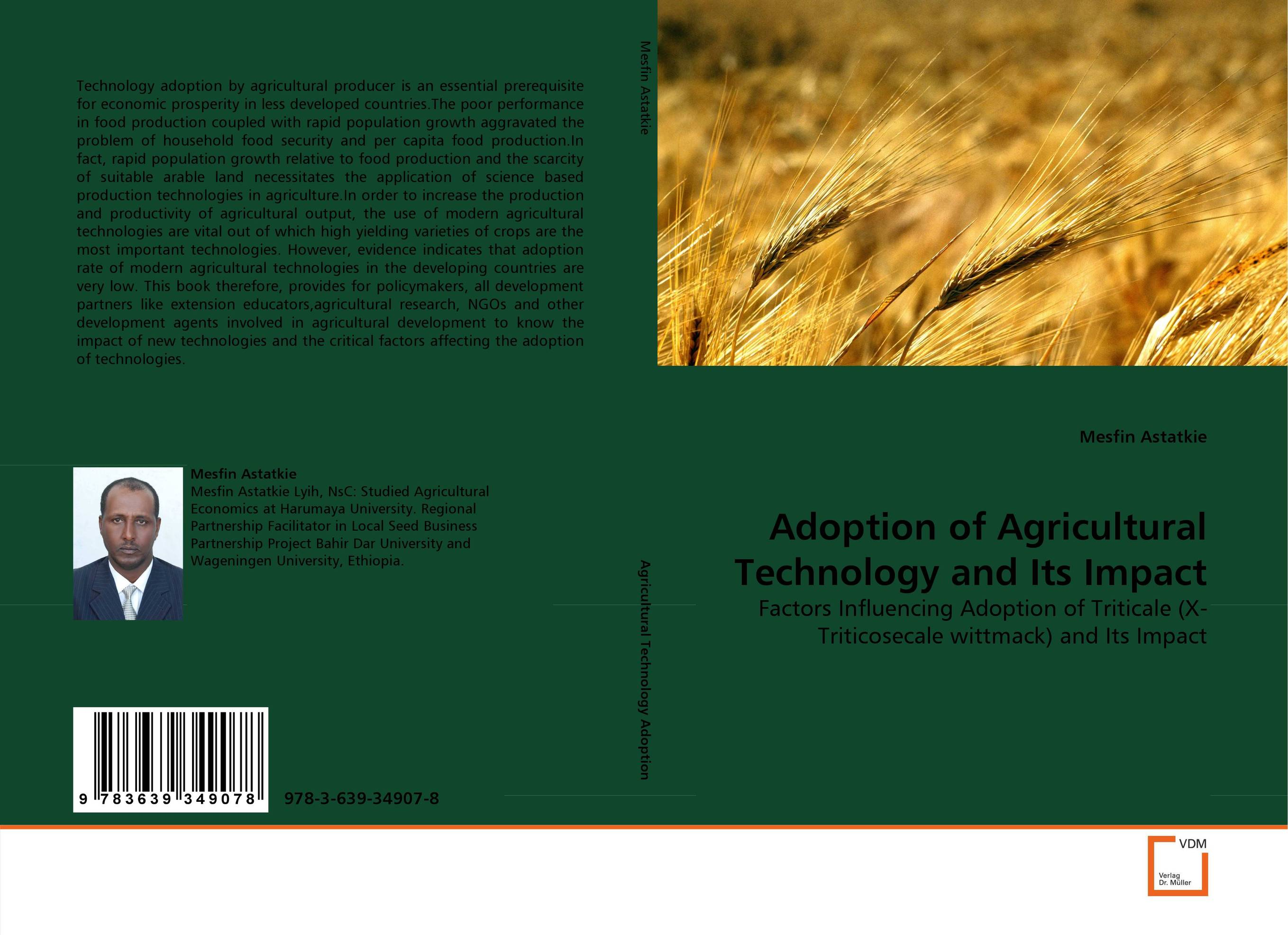 Adoption of Agricultural Technology and Its Impact norman god that limps – science and technology i n the eighties