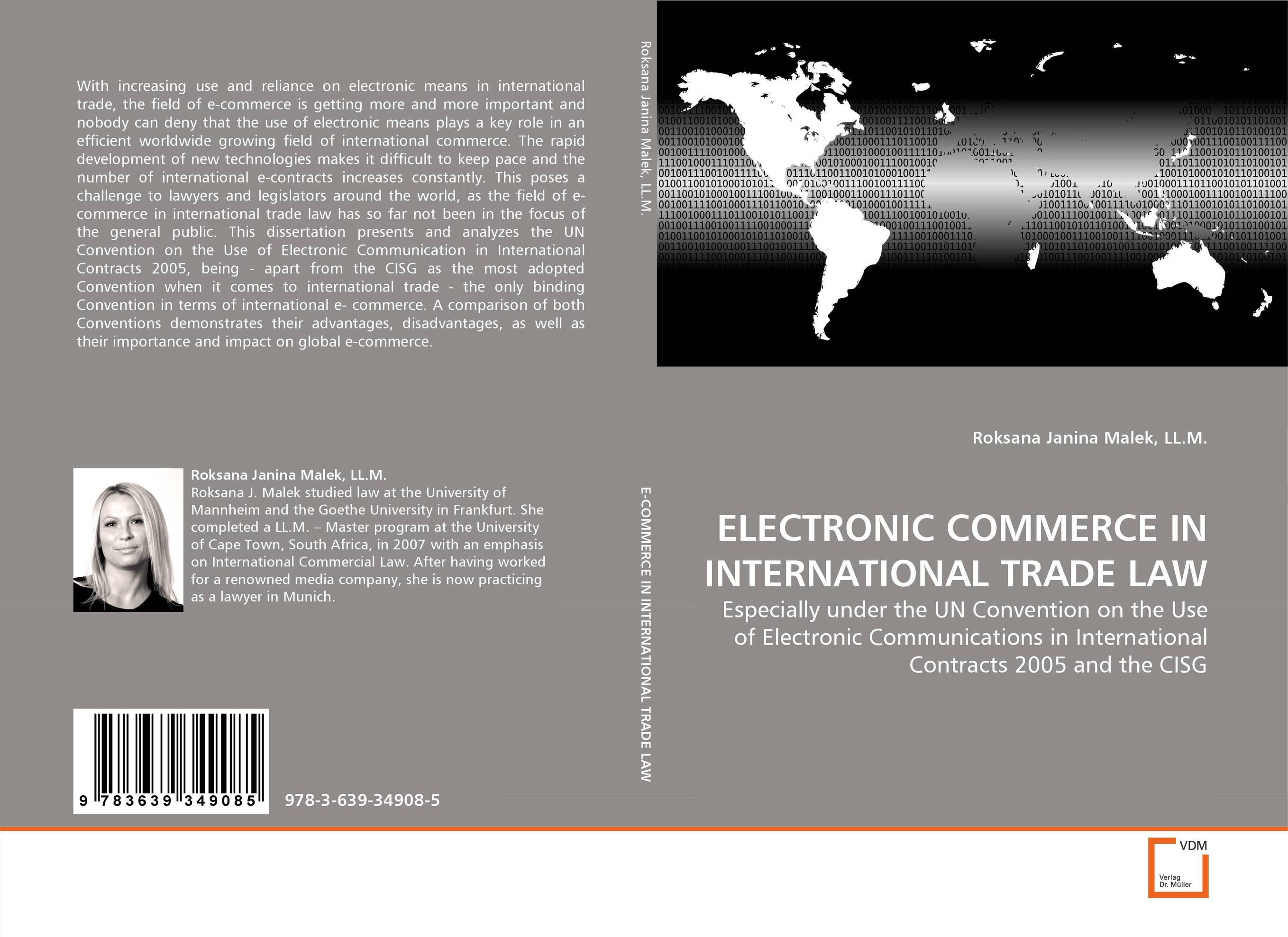 ELECTRONIC COMMERCE IN INTERNATIONAL TRADE LAW julie e czerneda to trade the stars