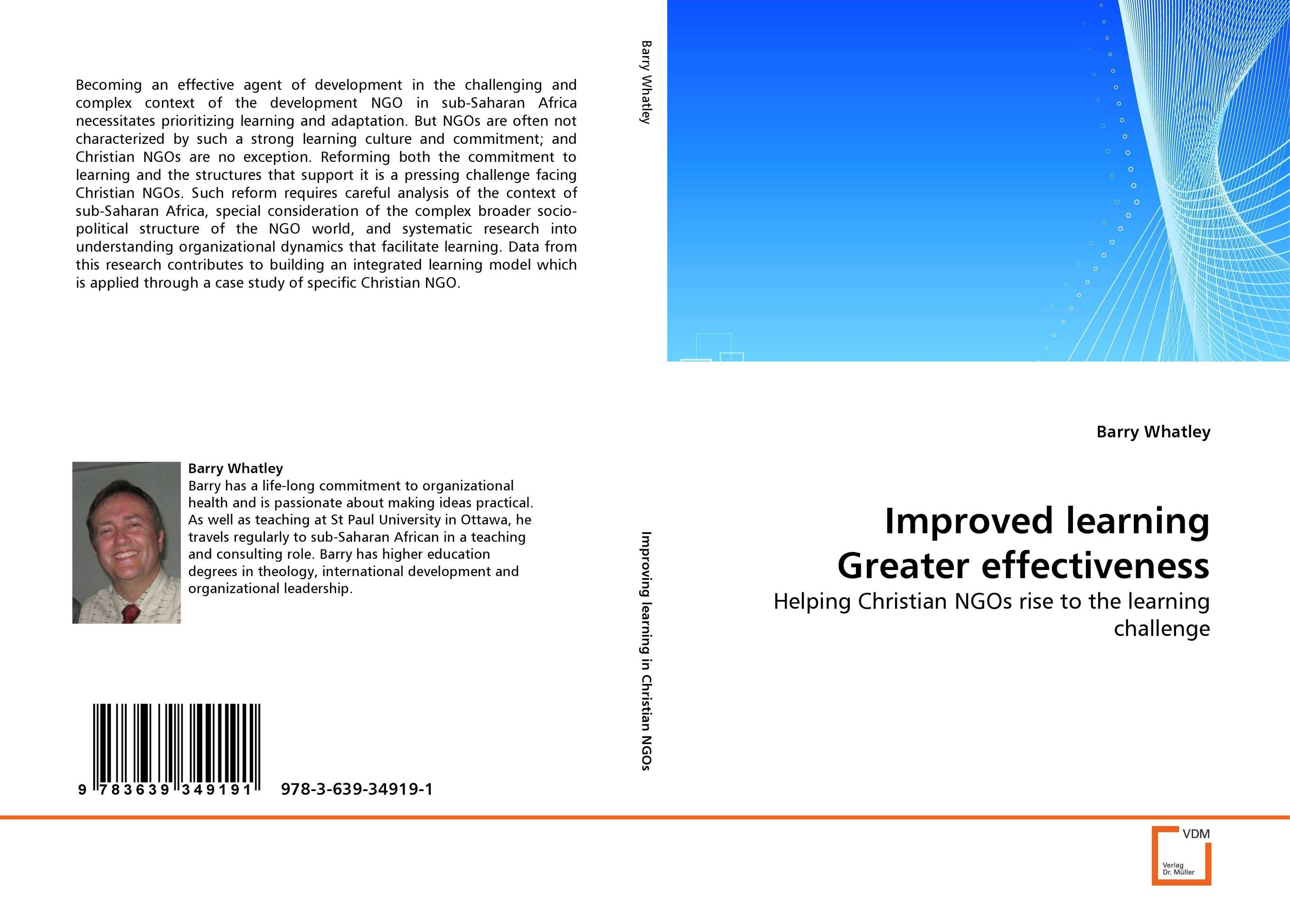 Improved learning Greater effectiveness ngos