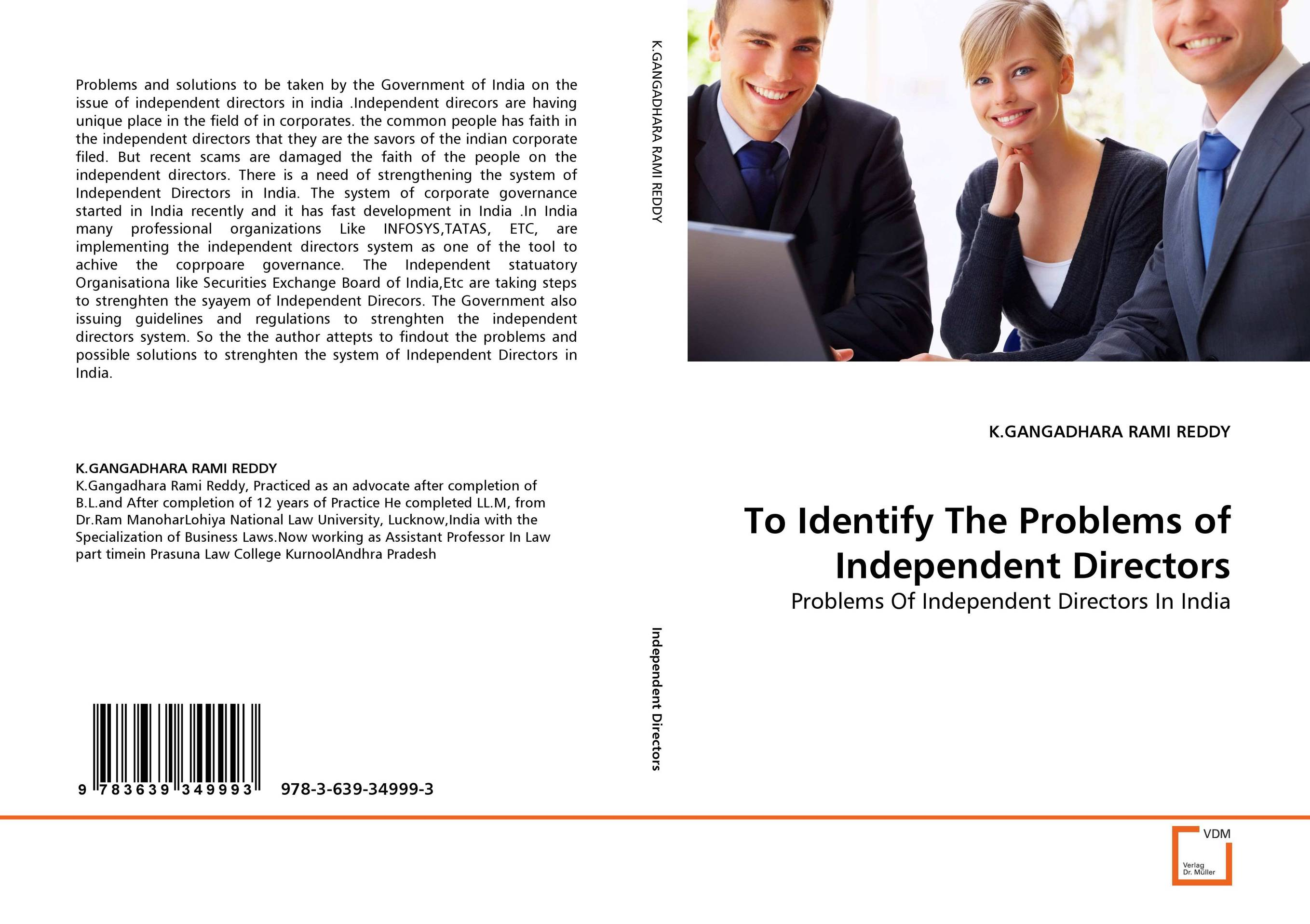 To Identify The Problems of Independent Directors