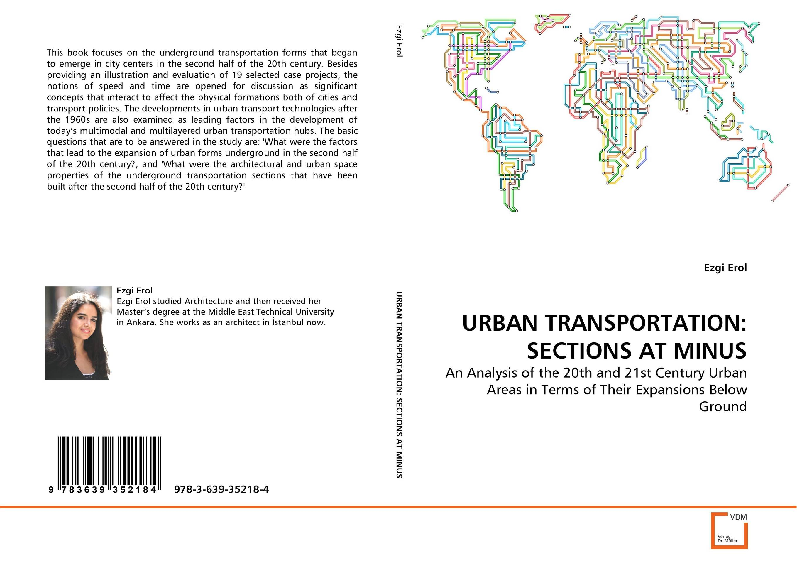 URBAN TRANSPORTATION: SECTIONS AT MINUS urban forms