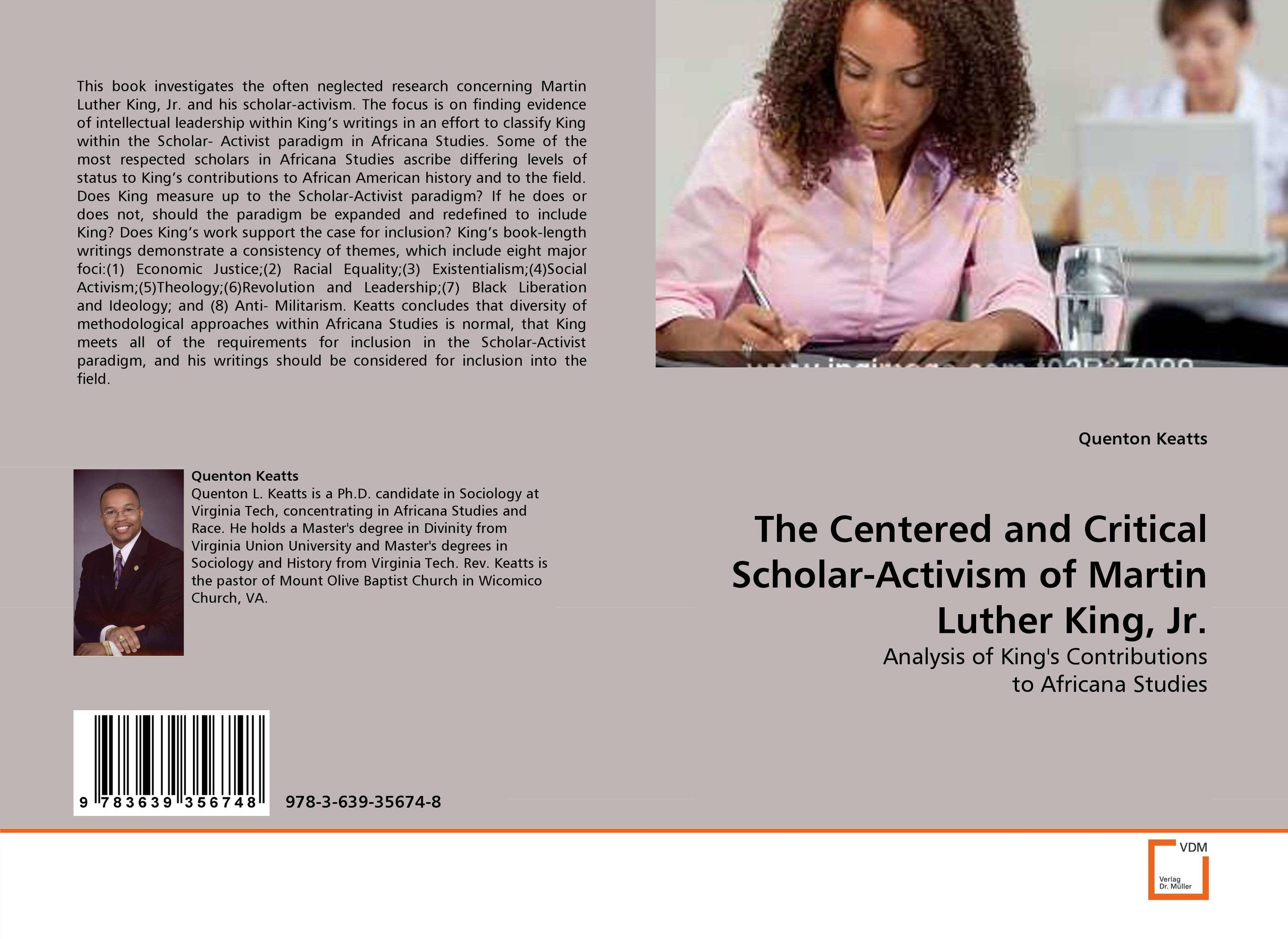 The Centered and Critical Scholar-Activism of Martin Luther King, Jr. king s end of watch