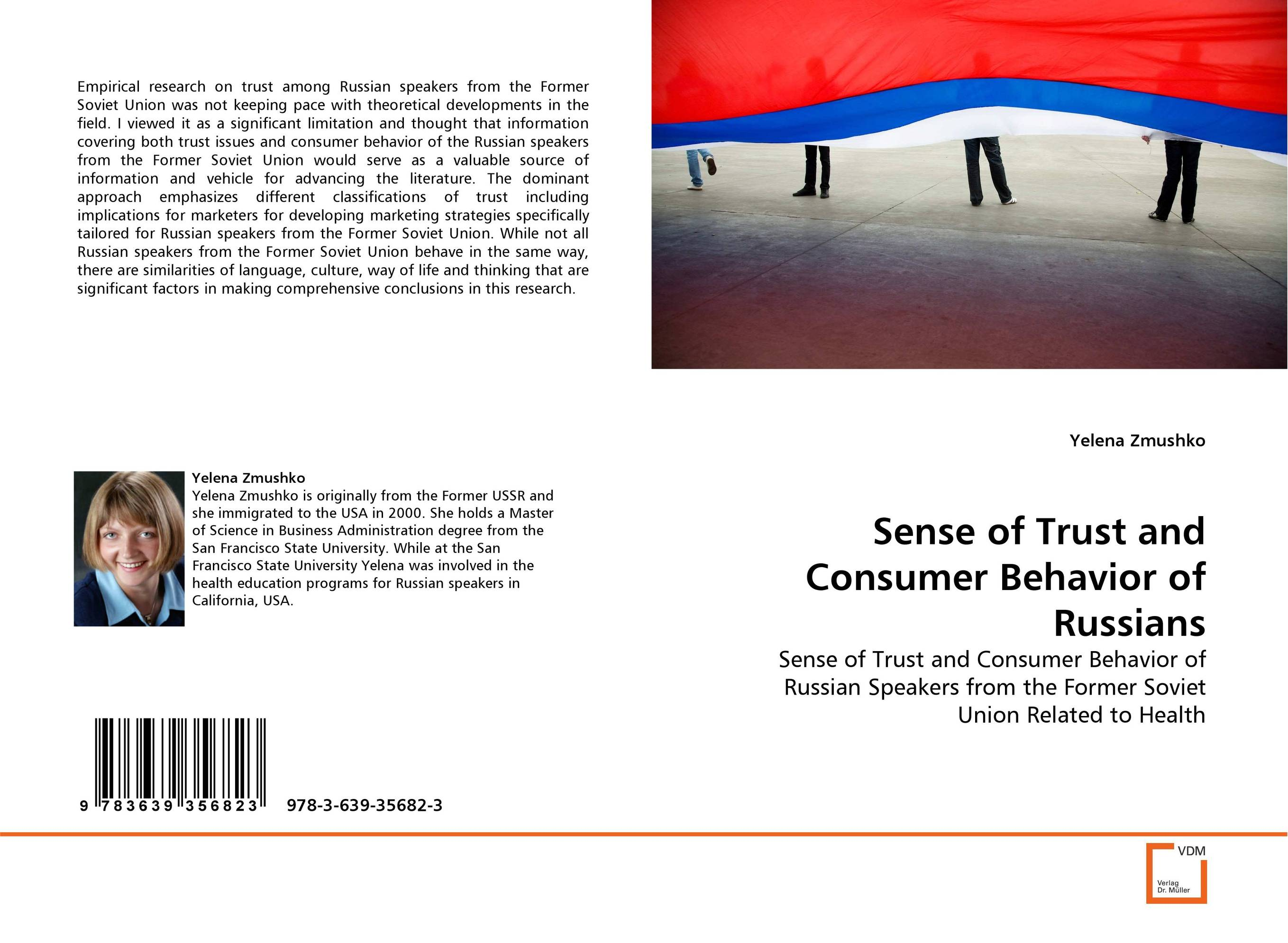 Sense of Trust and Consumer Behavior of Russians bremzen a mastering the art of soviet cooking