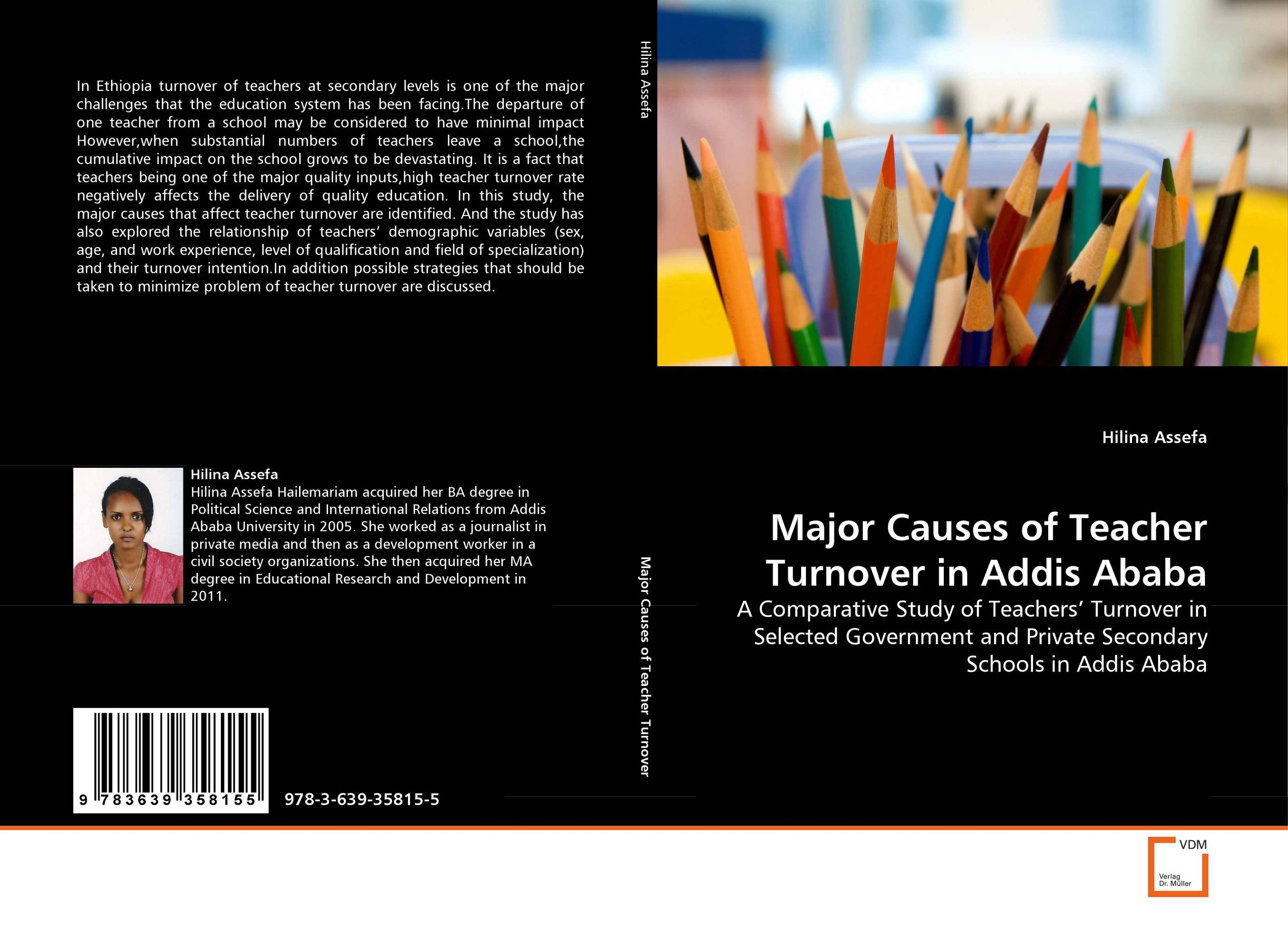 Major Causes of Teacher Turnover in Addis Ababa work experience education for teachers