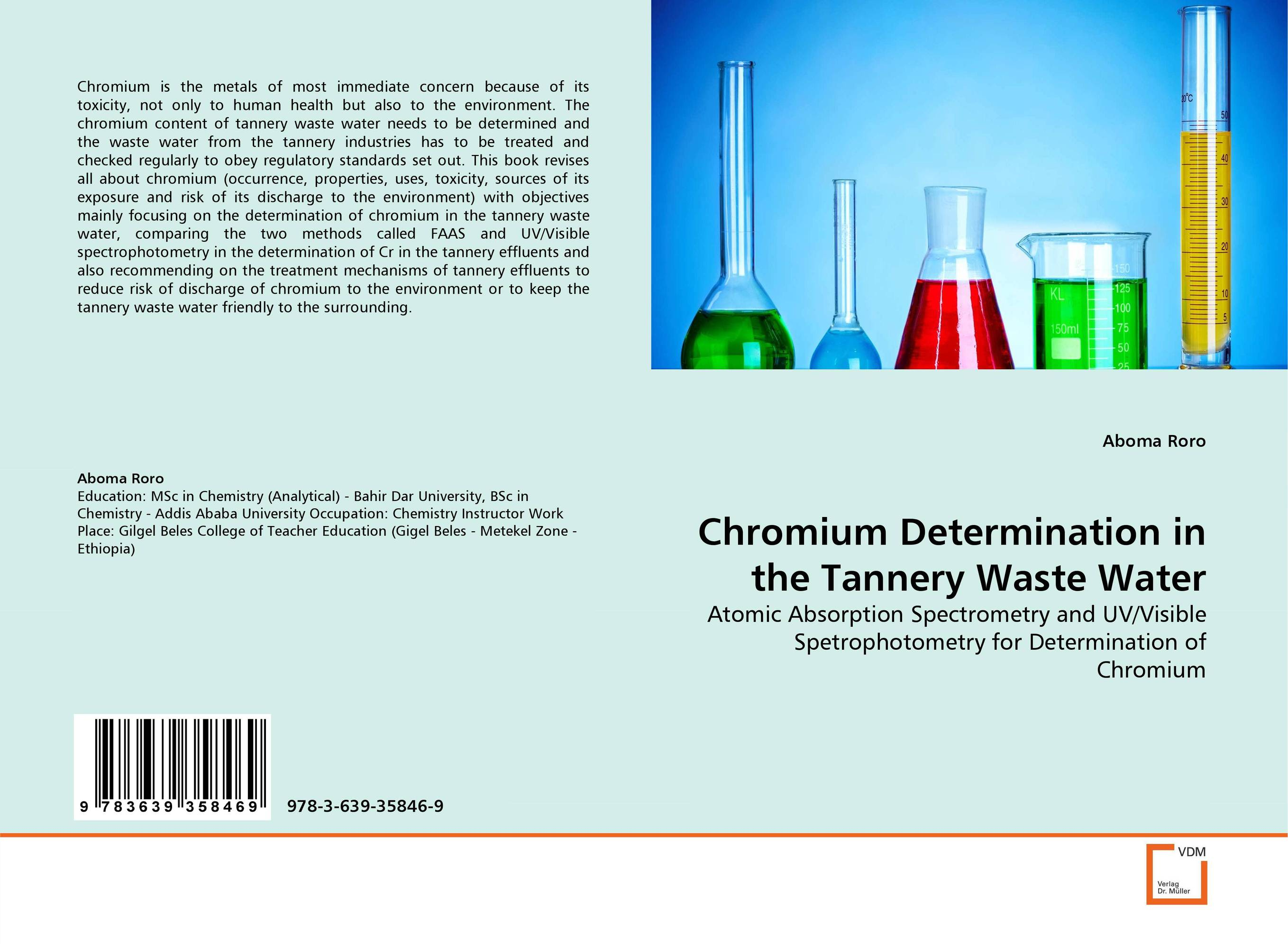 Chromium Determination in the Tannery Waste Water bride of the water god v 3