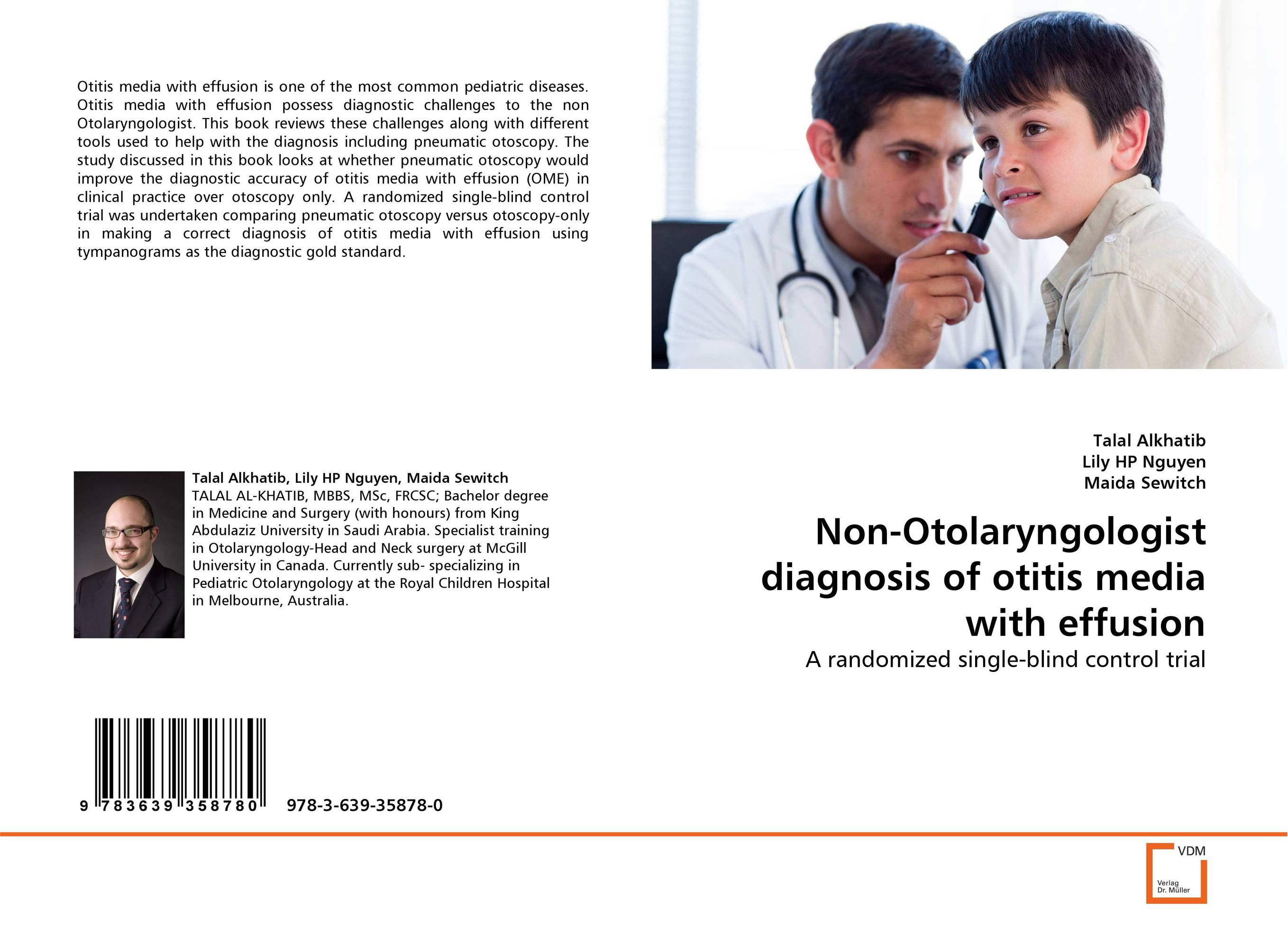 Non-Otolaryngologist diagnosis of otitis media with effusion