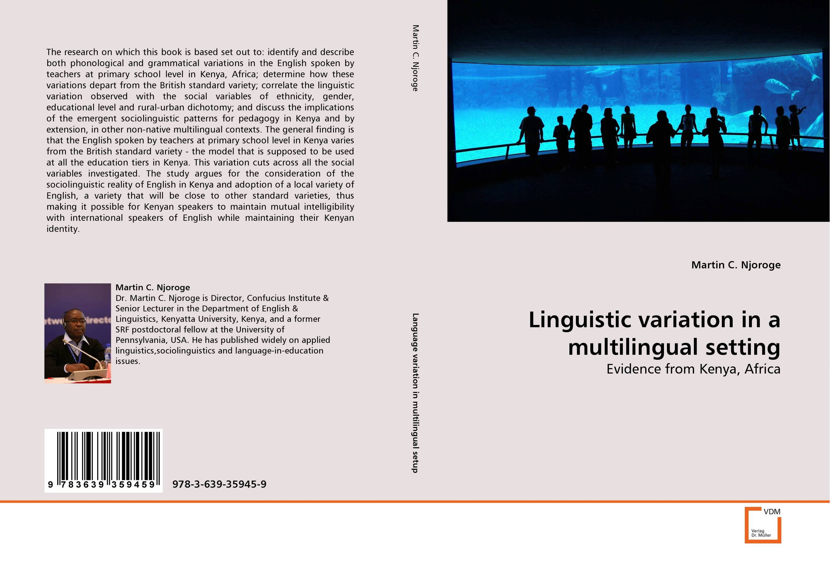 Linguistic variation in a multilingual setting linguistic variation in a multilingual setting