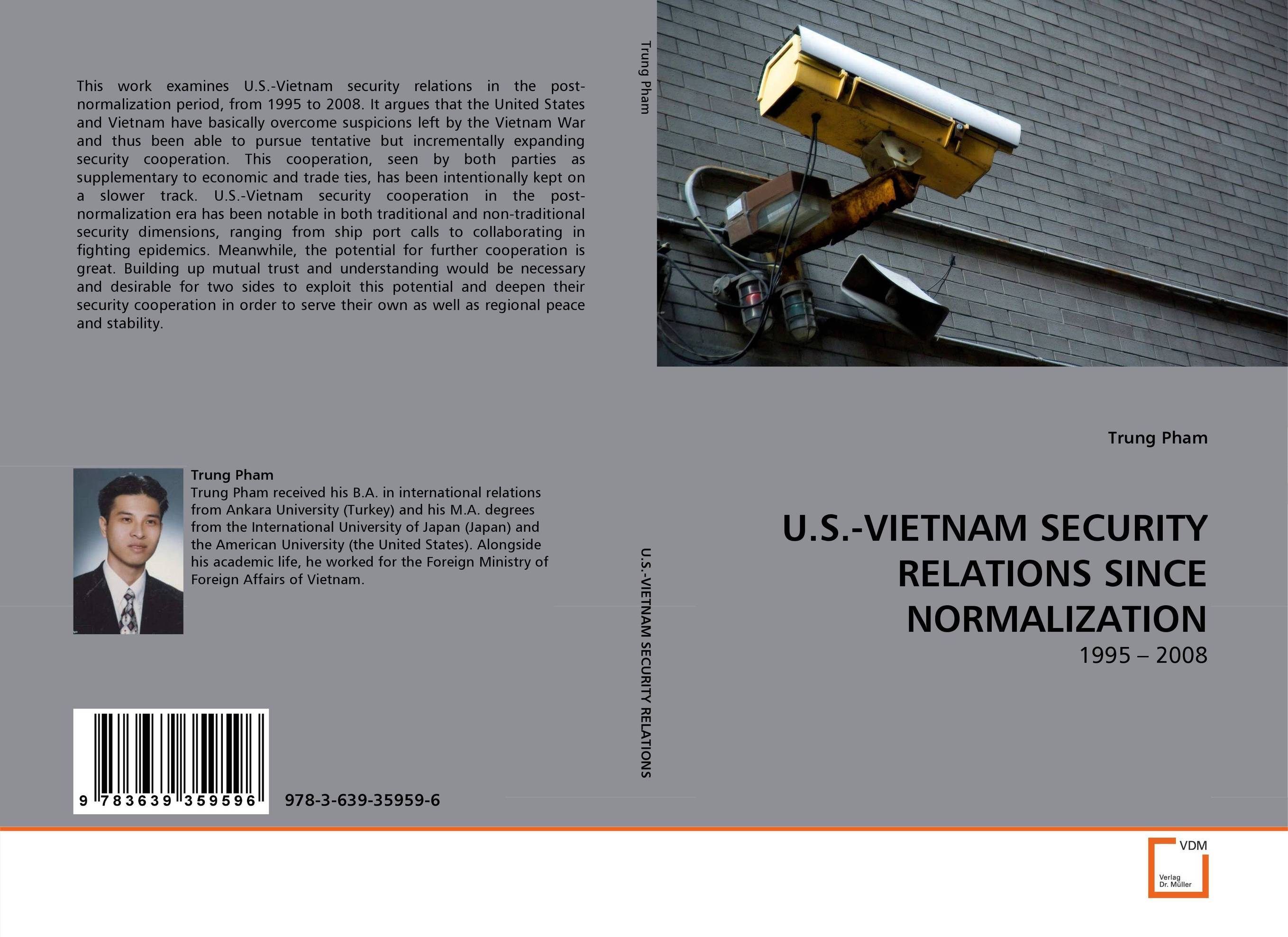 U.S.-VIETNAM SECURITY RELATIONS SINCE NORMALIZATION the cooperation model in state church relations