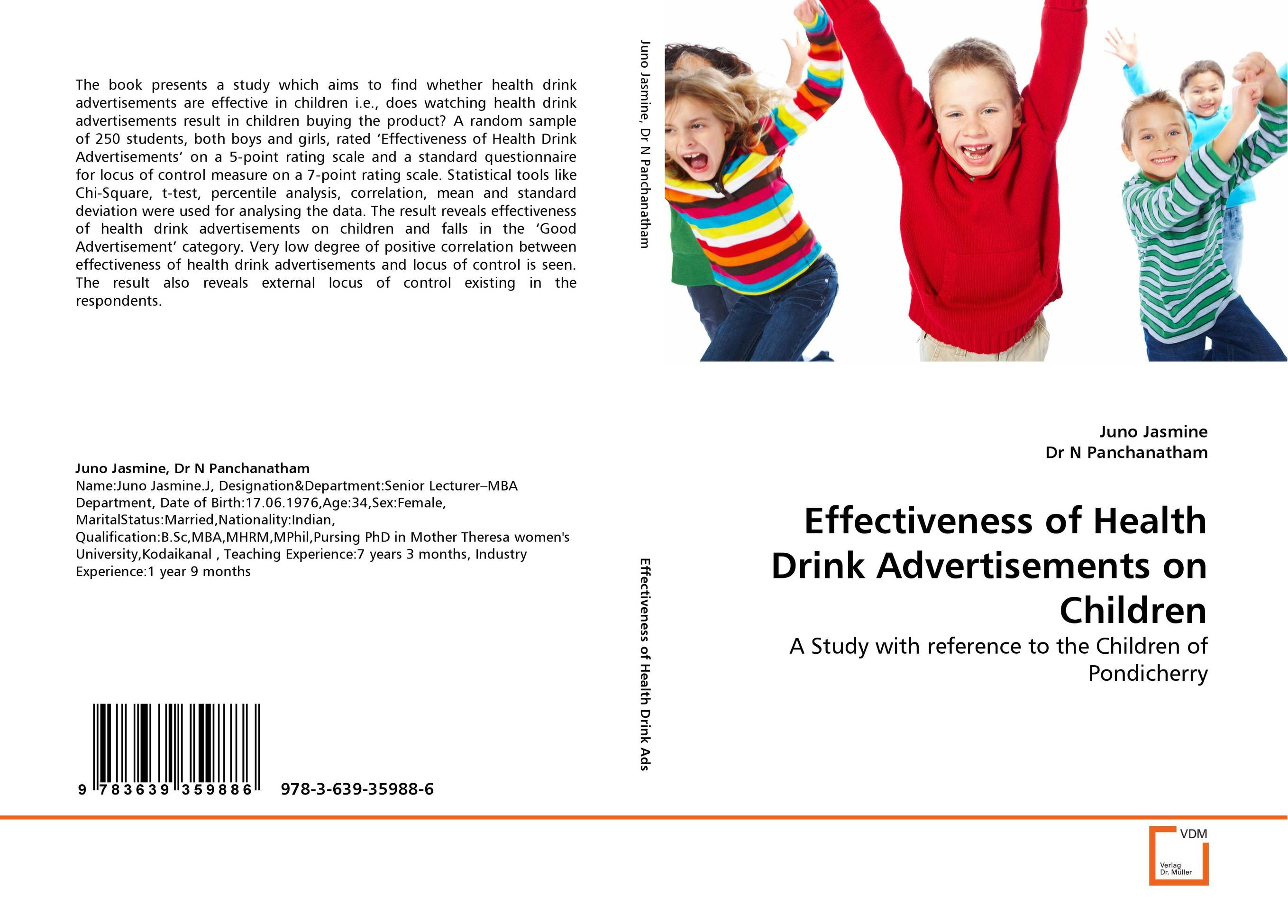 Effectiveness of Health Drink Advertisements on Children