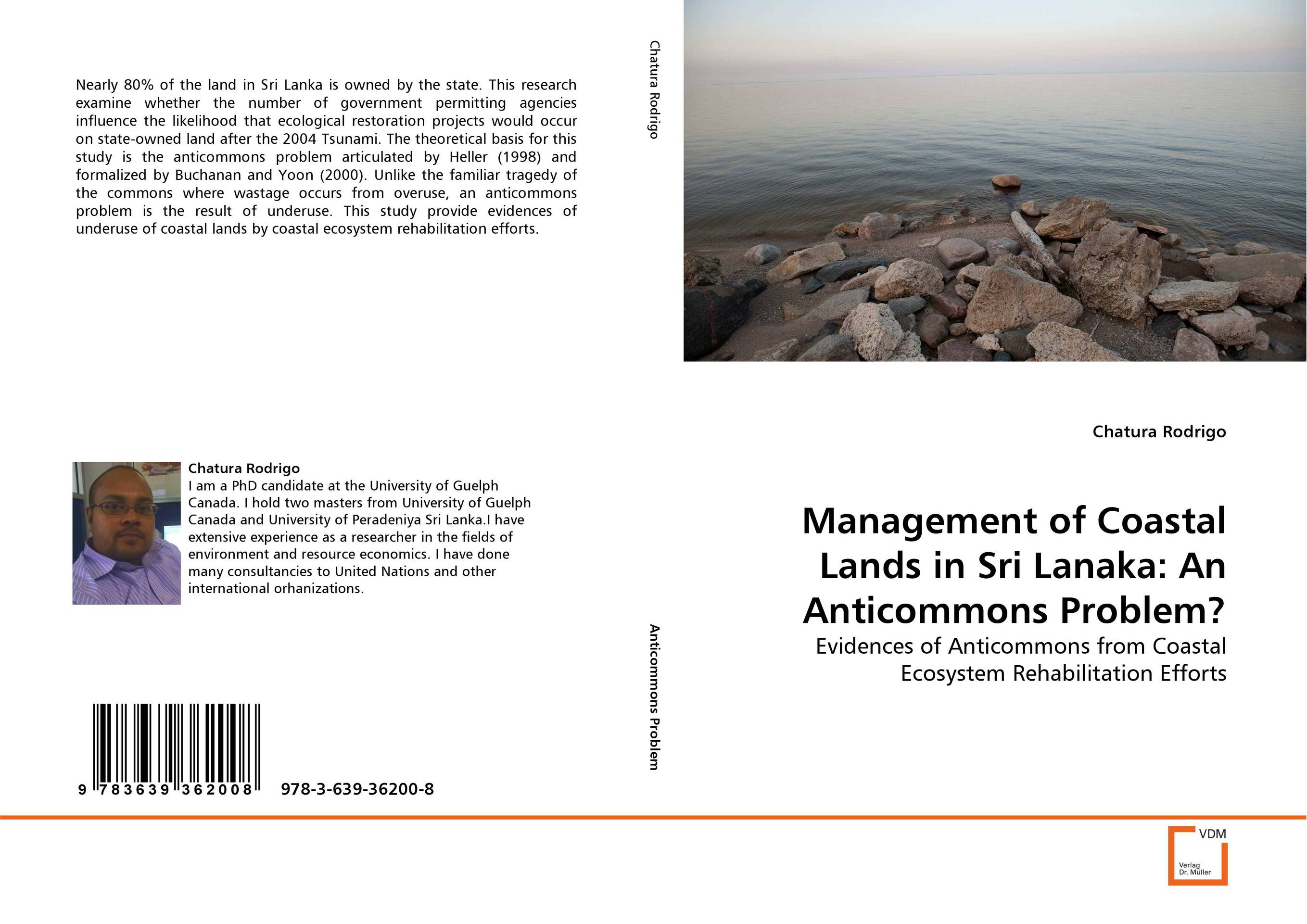 Management of Coastal Lands in Sri Lanaka: An Anticommons Problem? affair of state an