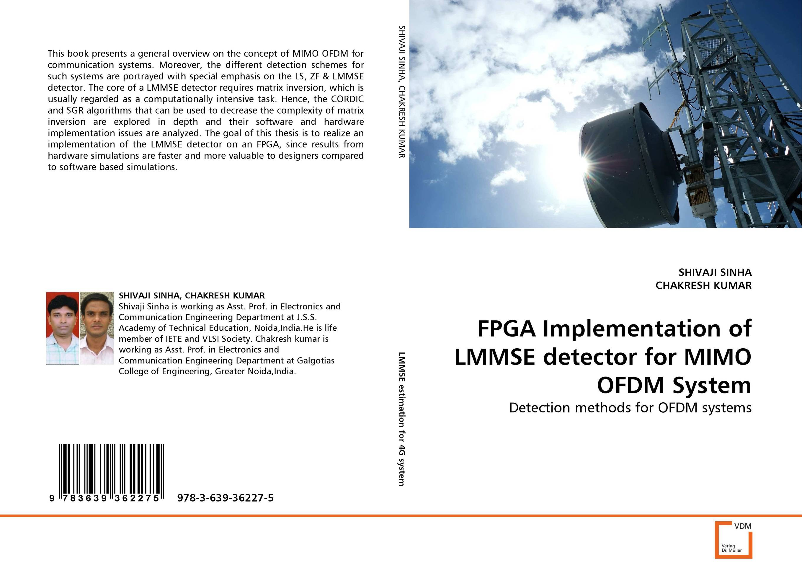 FPGA Implementation of LMMSE detector for MIMO OFDM System fpga implementation of reed solomon code