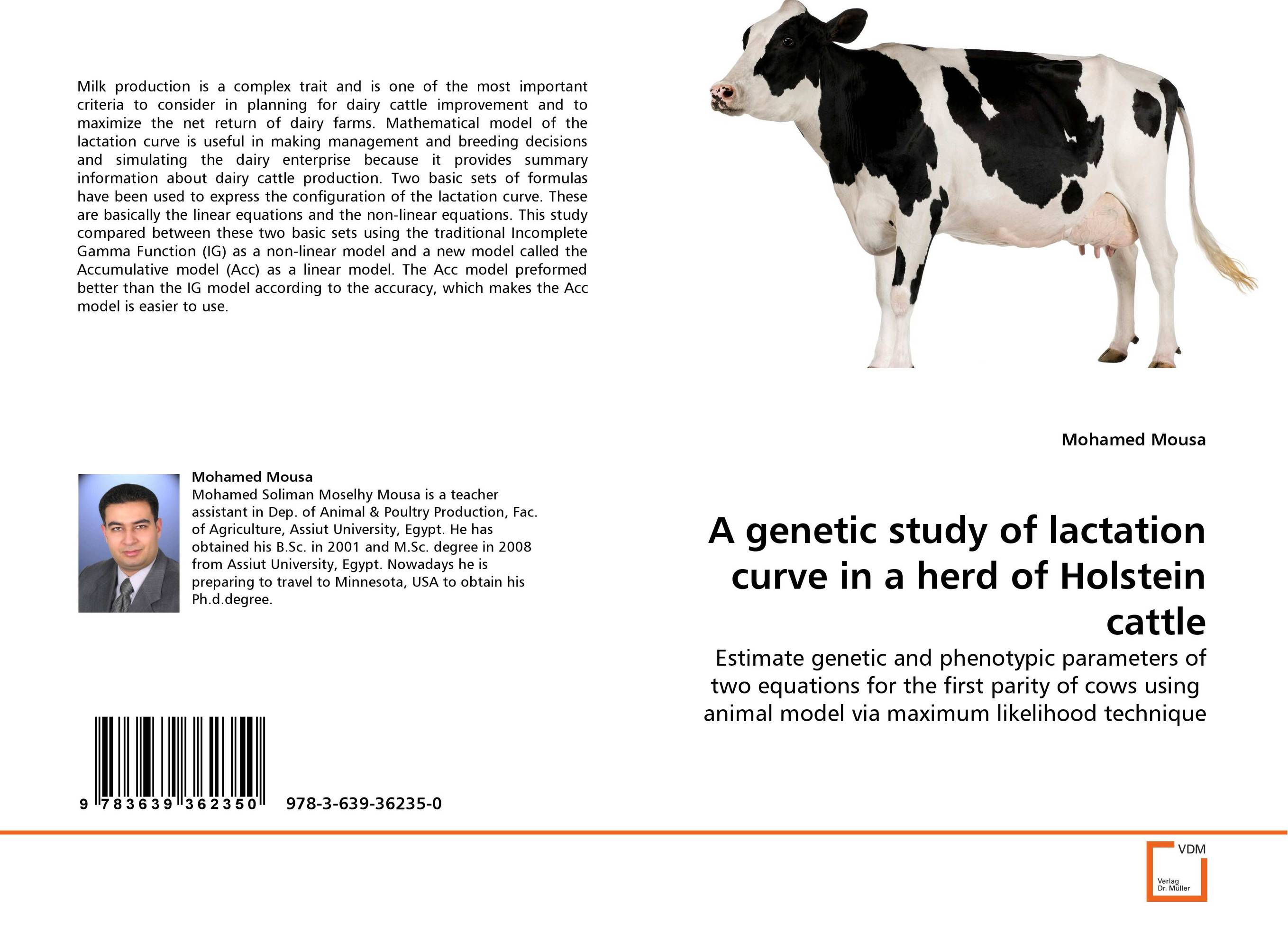A genetic study of lactation curve in a herd of Holstein cattle current fertility status in cattle of mini dairy farms