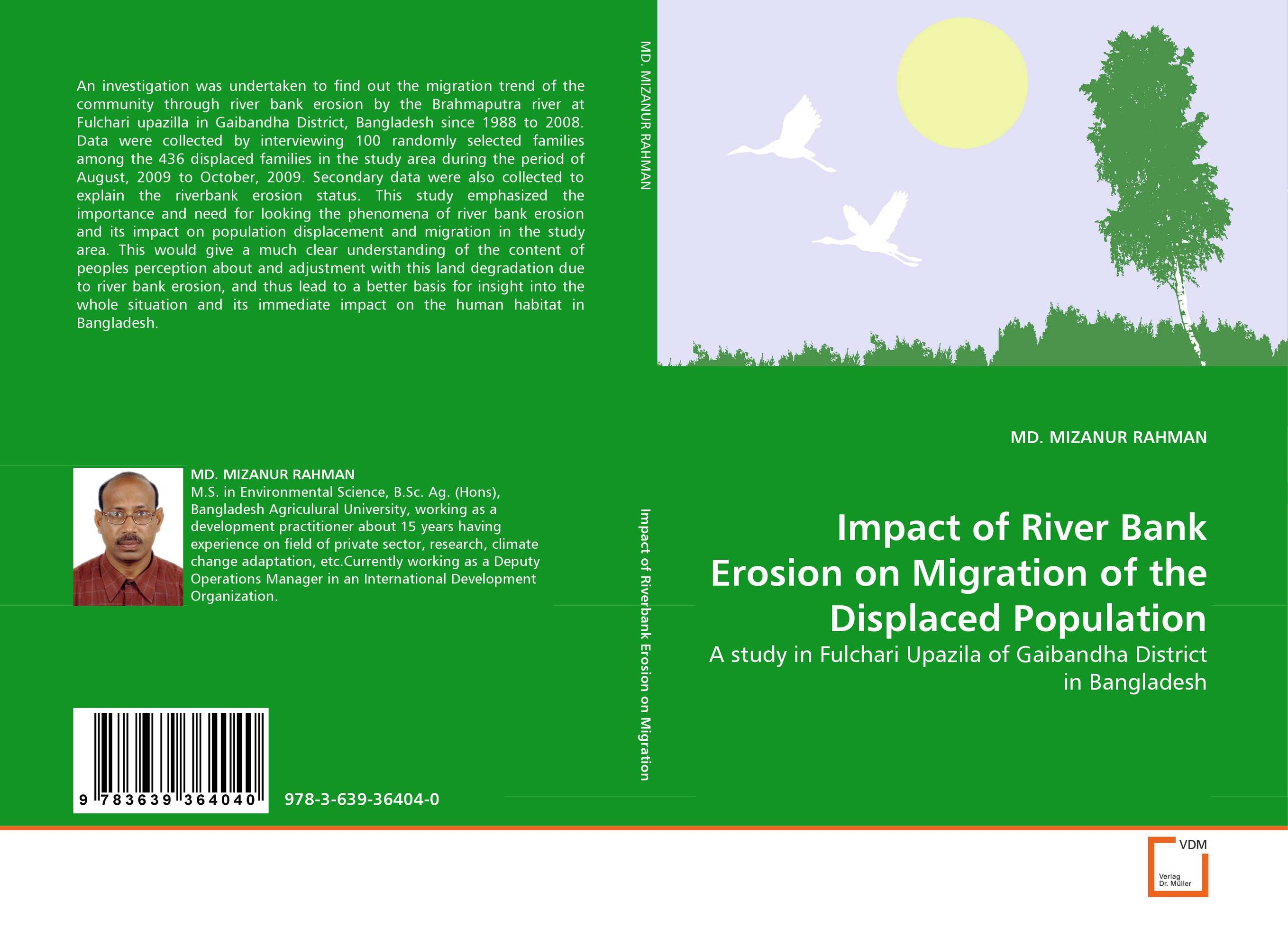 Impact of River Bank Erosion on Migration of the Displaced Population assessing the demand of river bank recreational facilities