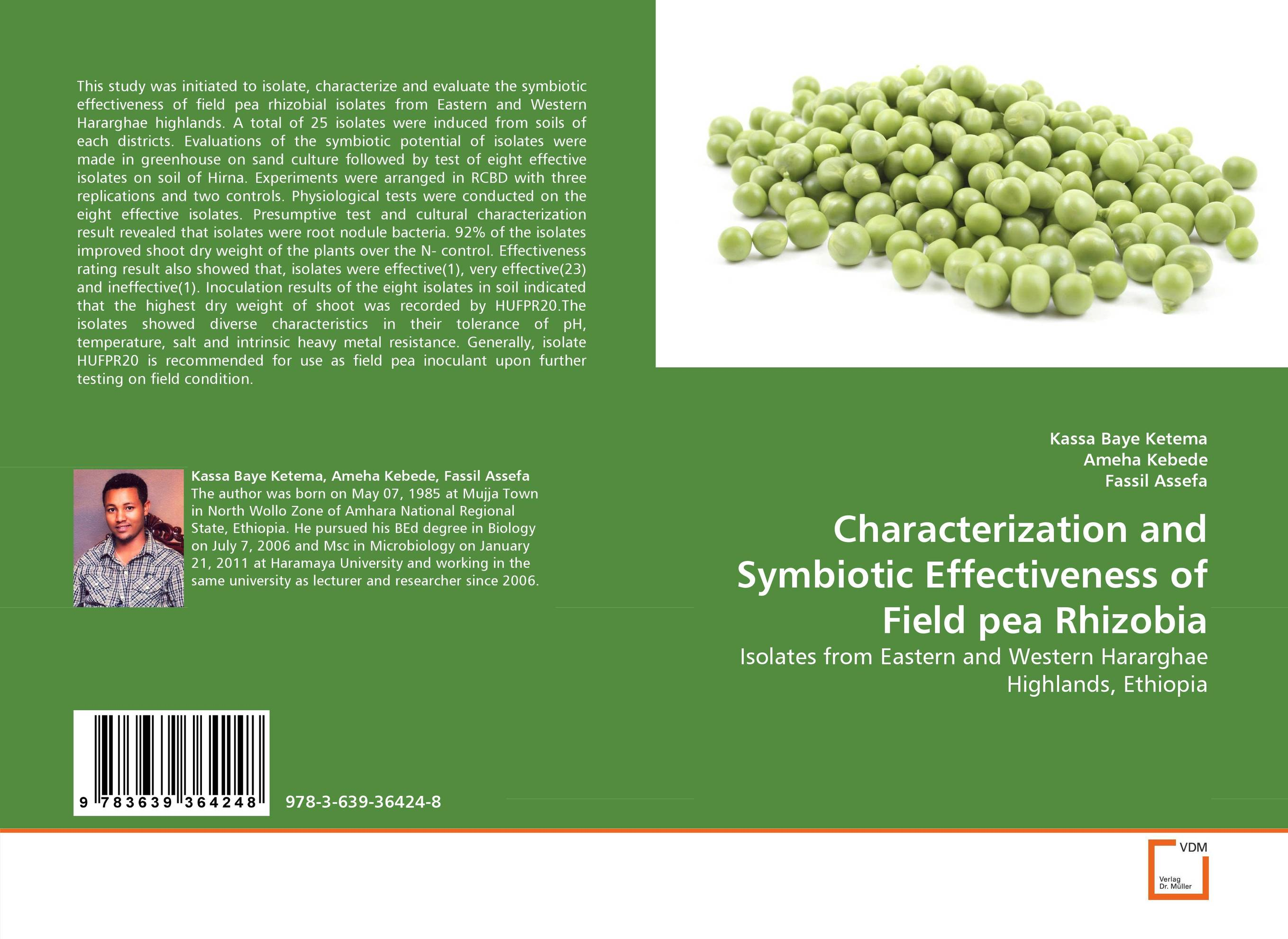 Characterization and Symbiotic Effectiveness of Field pea Rhizobia