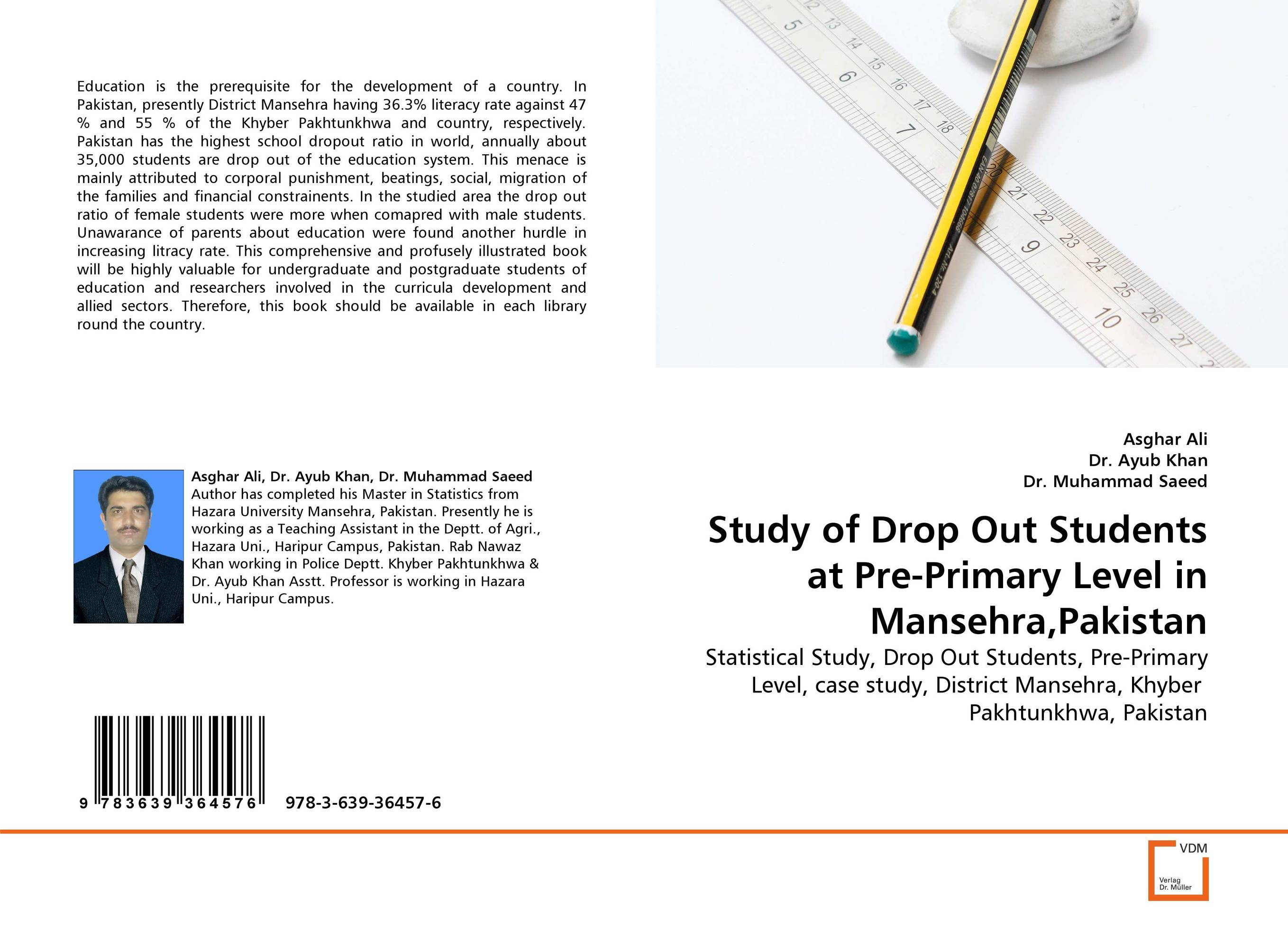 Study of Drop Out Students at Pre-Primary Level in Mansehra,Pakistan pakistan on the brink the future of pakistan afghanistan and the west