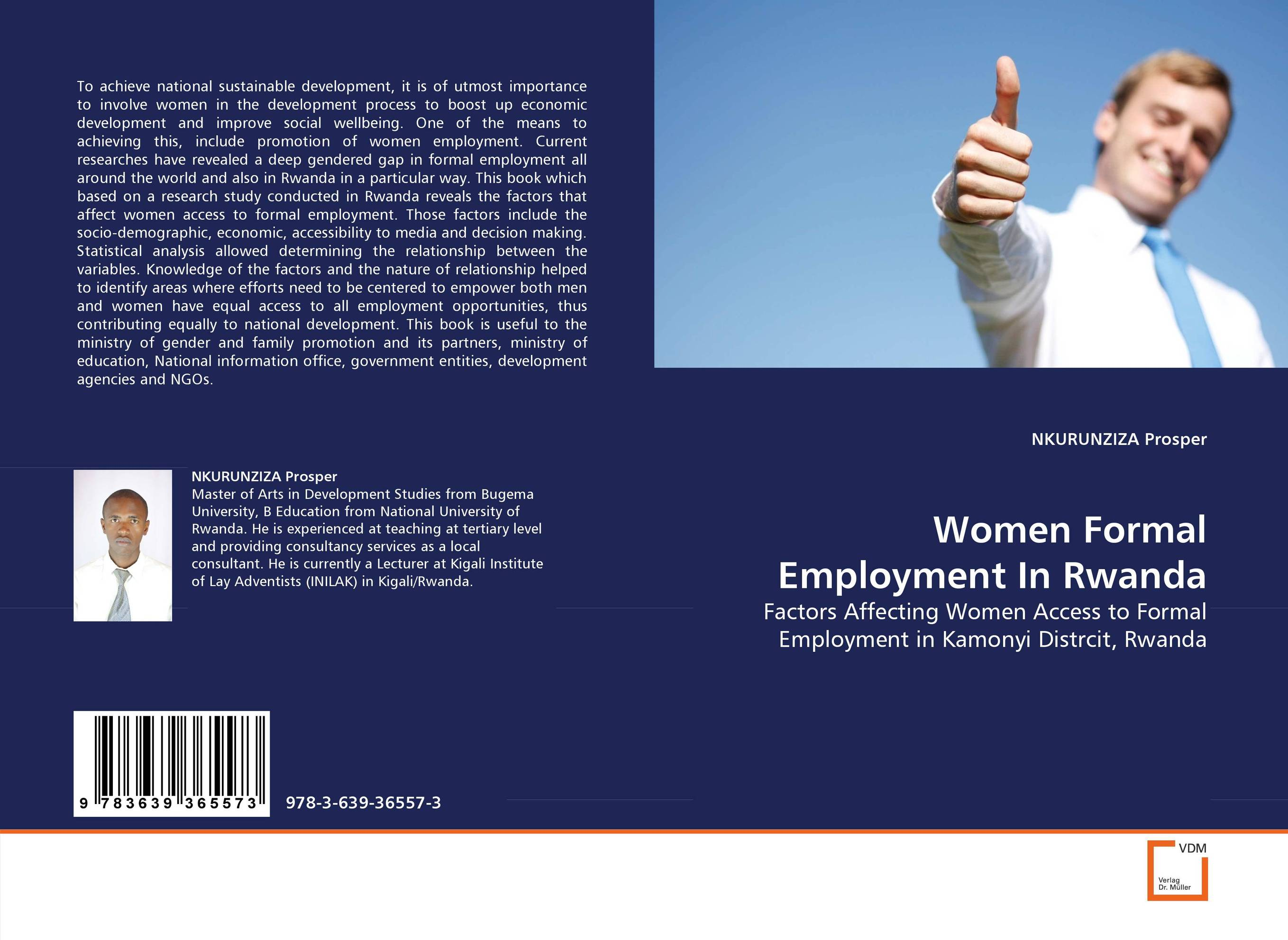 Women Formal Employment In Rwanda the ministry of utmost happiness