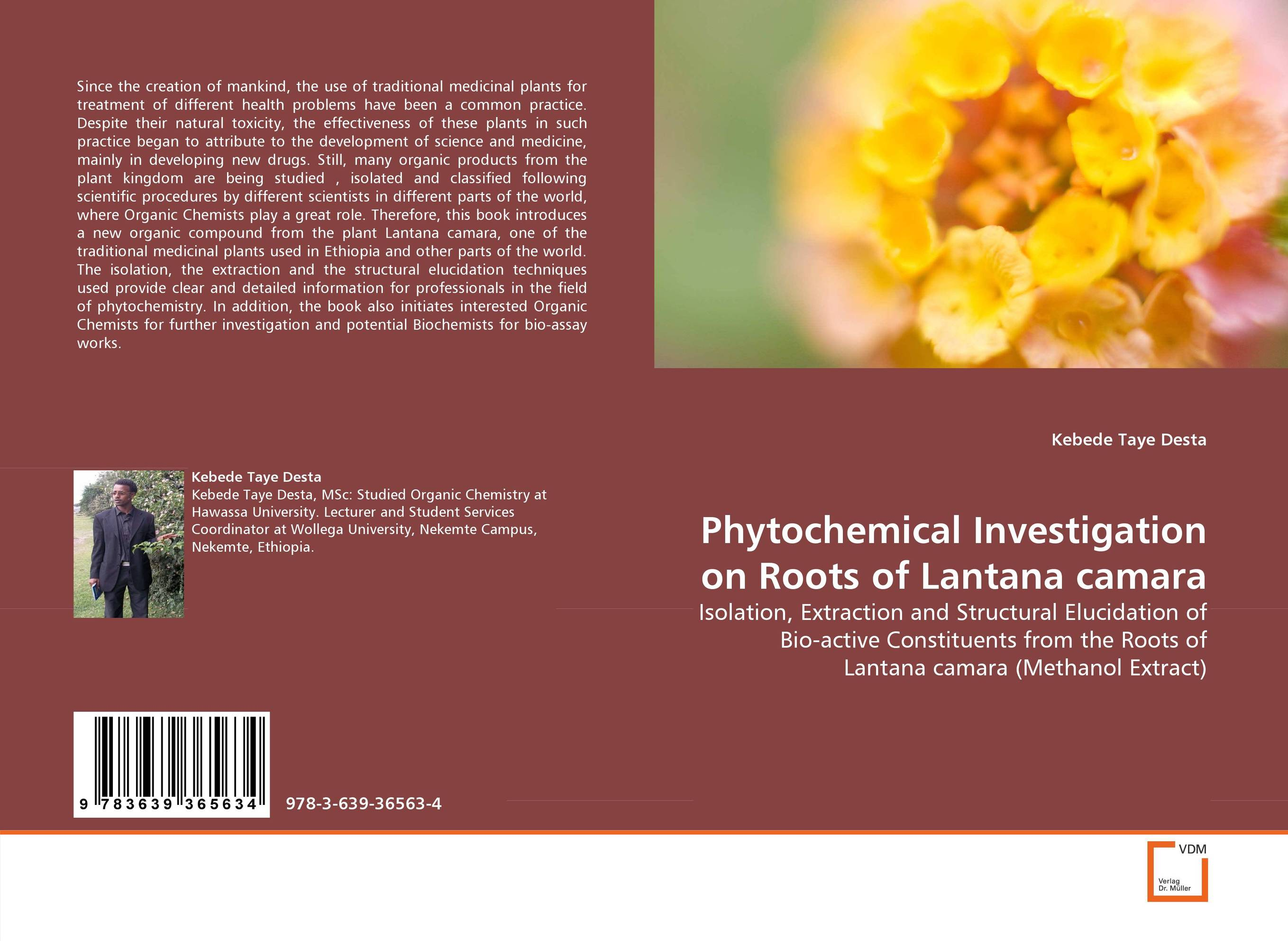 Phytochemical Investigation on Roots of Lantana camara