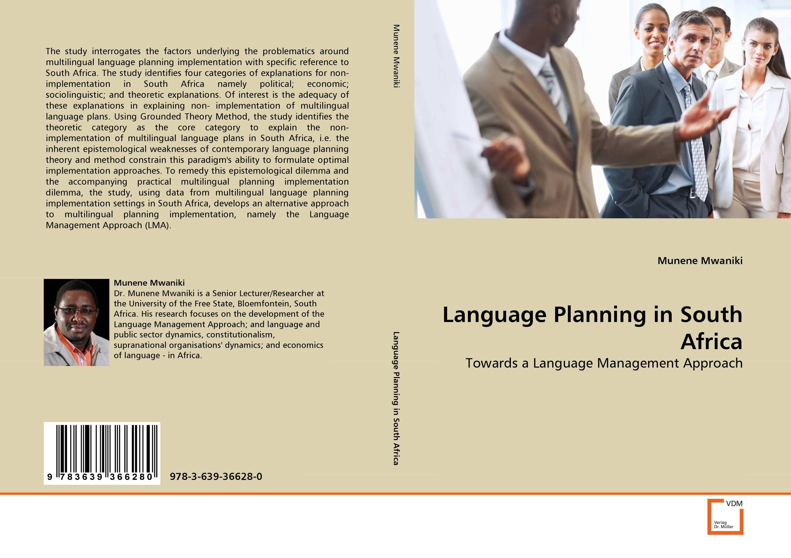 Language Planning in South Africa implementation of strategic plans