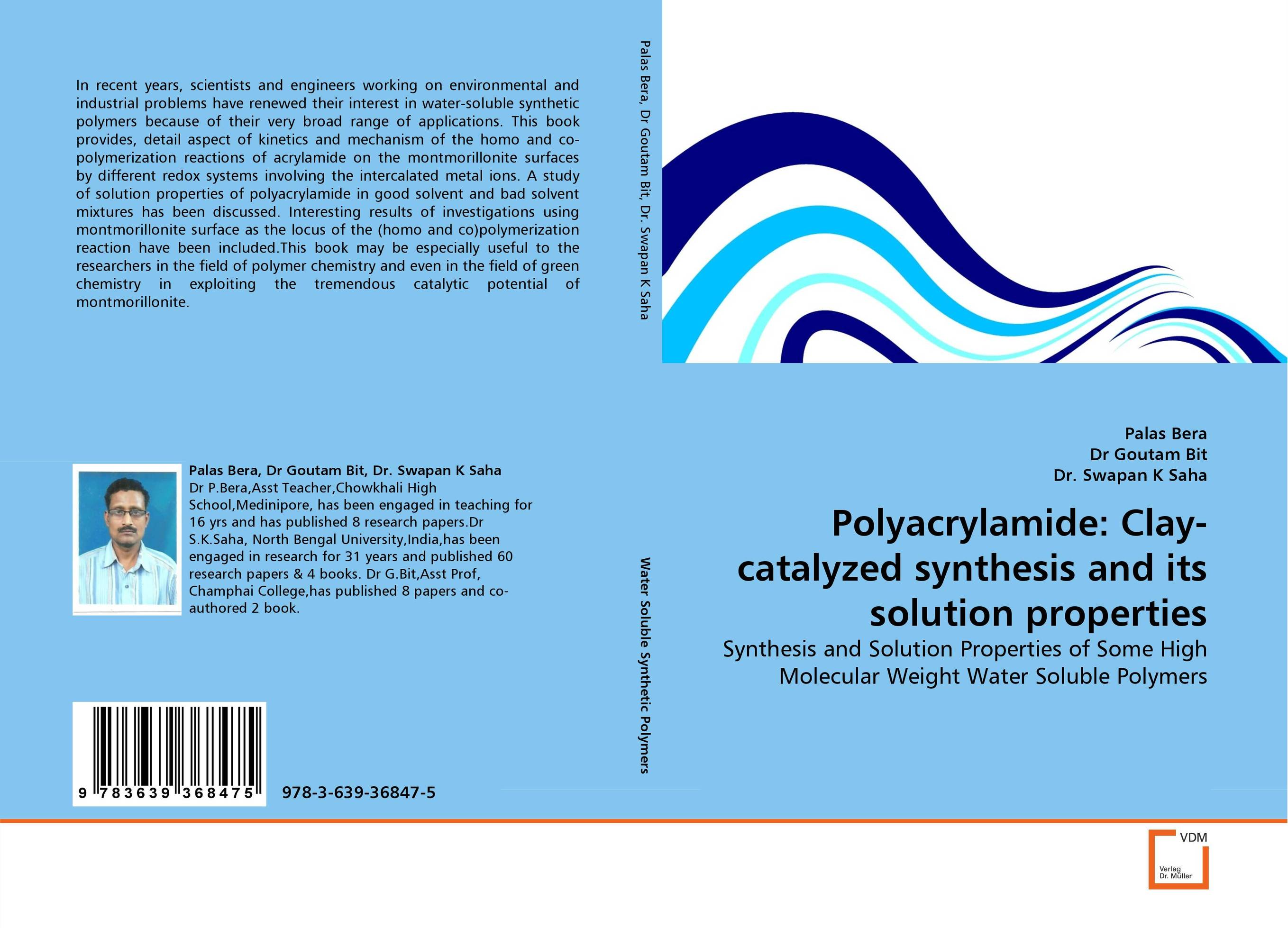 Polyacrylamide: Clay-catalyzed synthesis and its solution properties d beskrovniy chemistry technology and properties of synthetic rubber