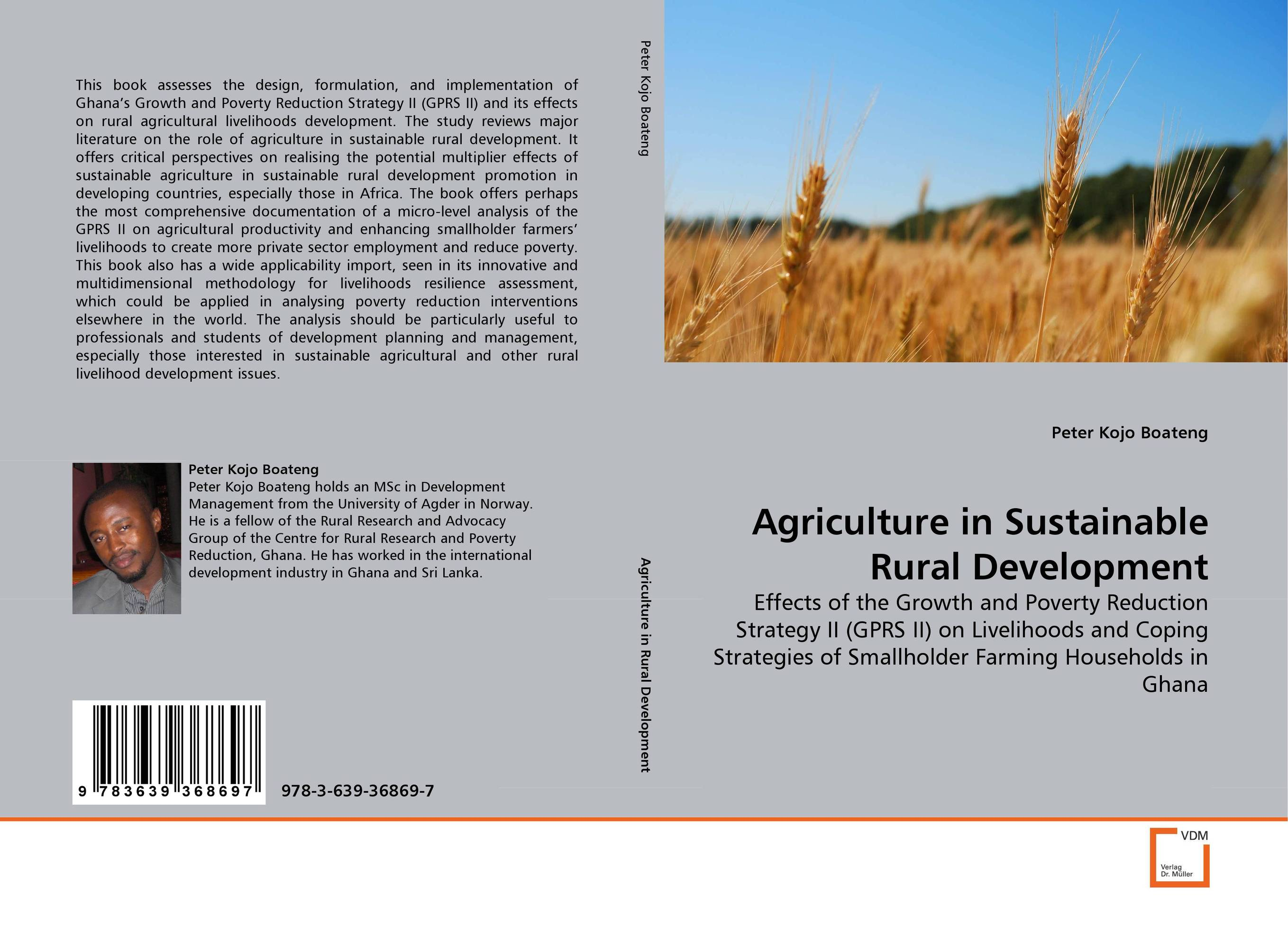 Agriculture in Sustainable Rural Development emerging issues on sustainable urban development