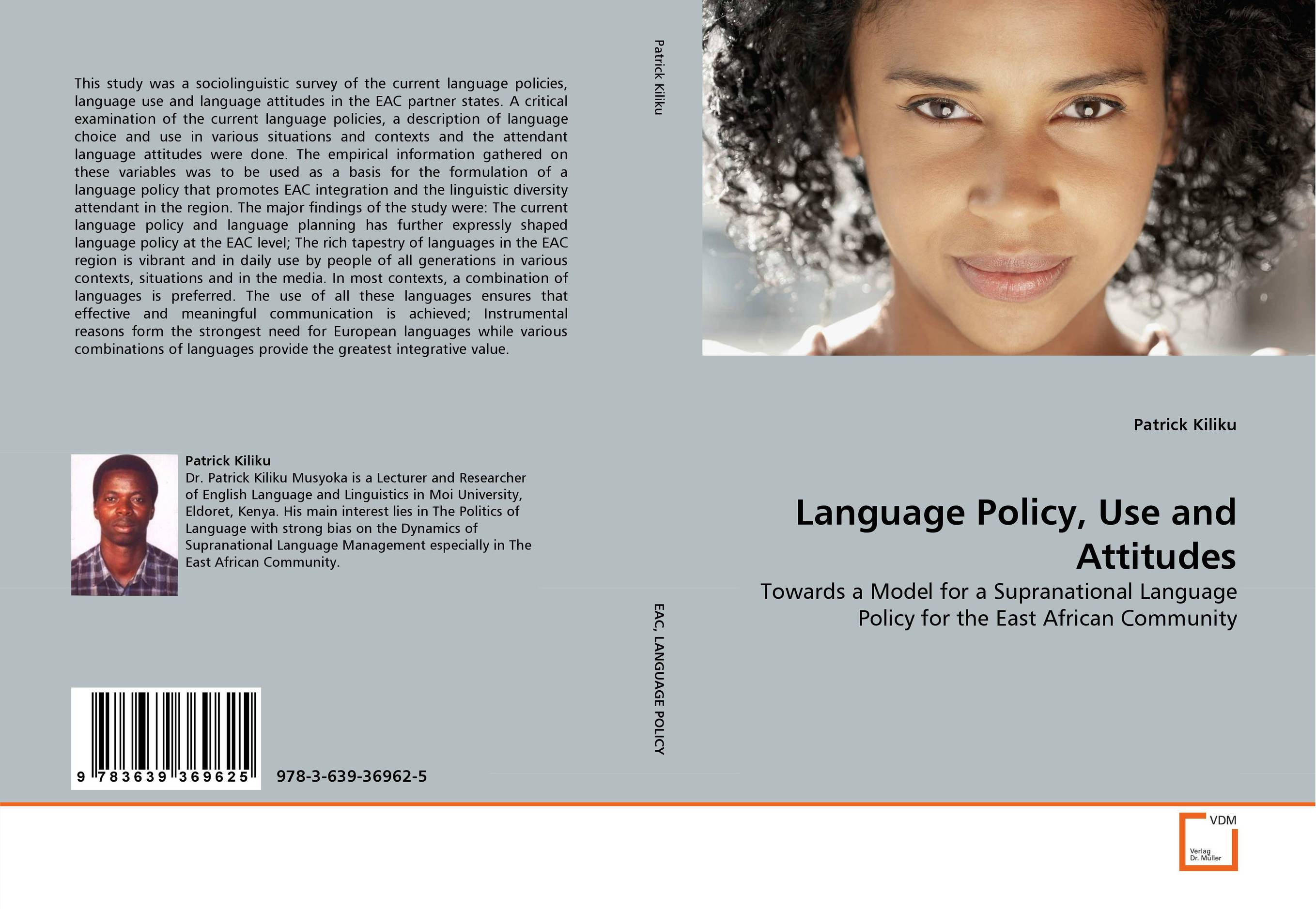 Language Policy, Use and Attitudes купить