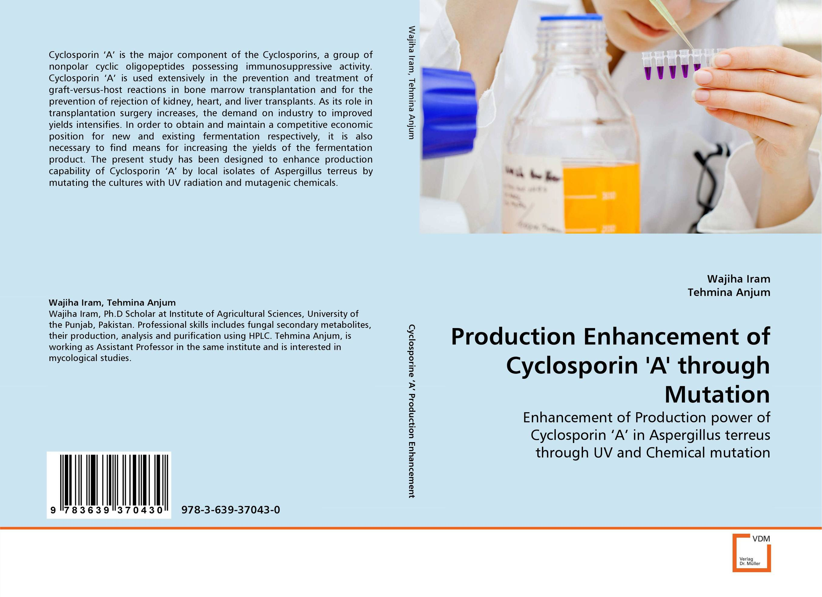 Production Enhancement of Cyclosporin ''A'' through Mutation adding value to the citrus pulp by enzyme biotechnology production
