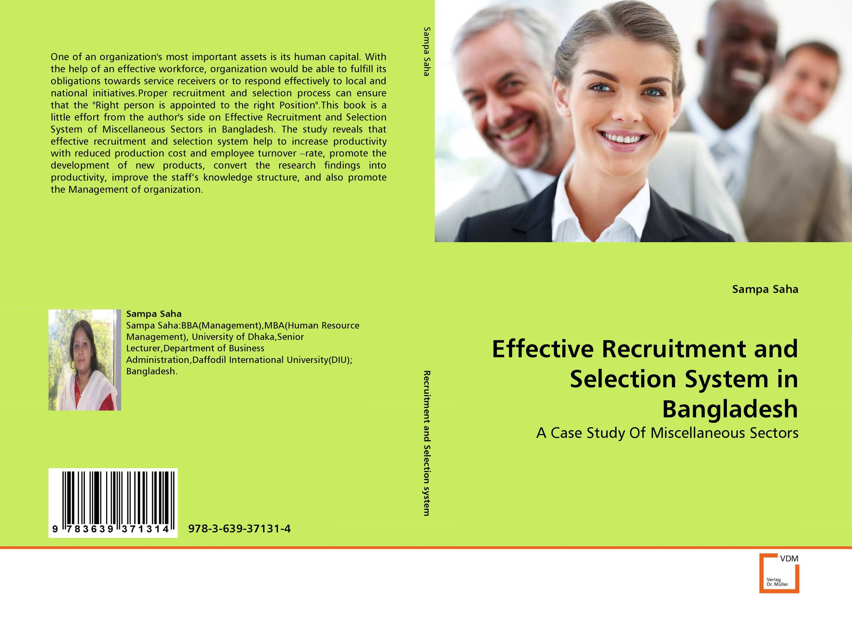 Effective Recruitment and Selection System in Bangladesh