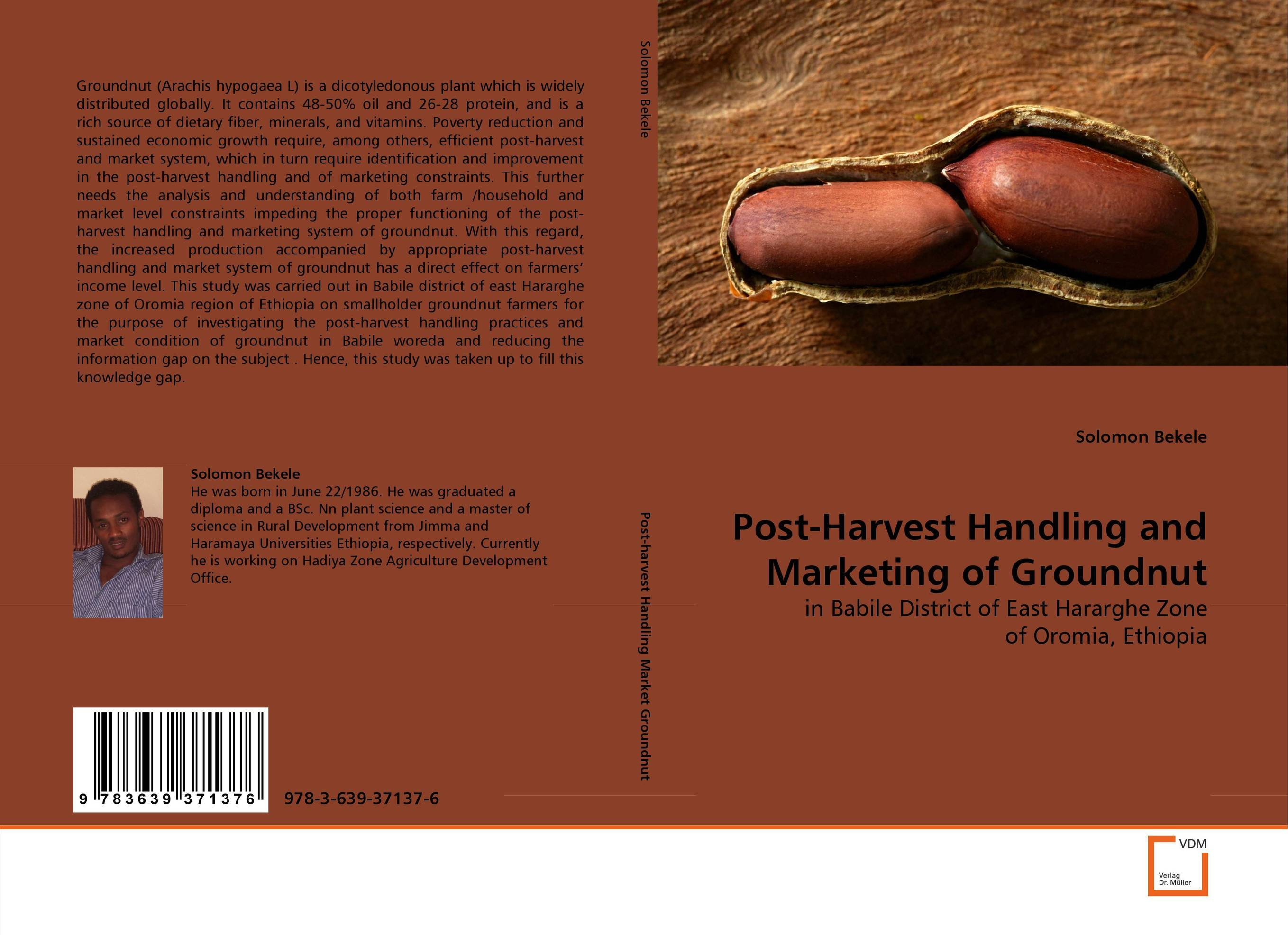 Post-Harvest Handling and Marketing of Groundnut