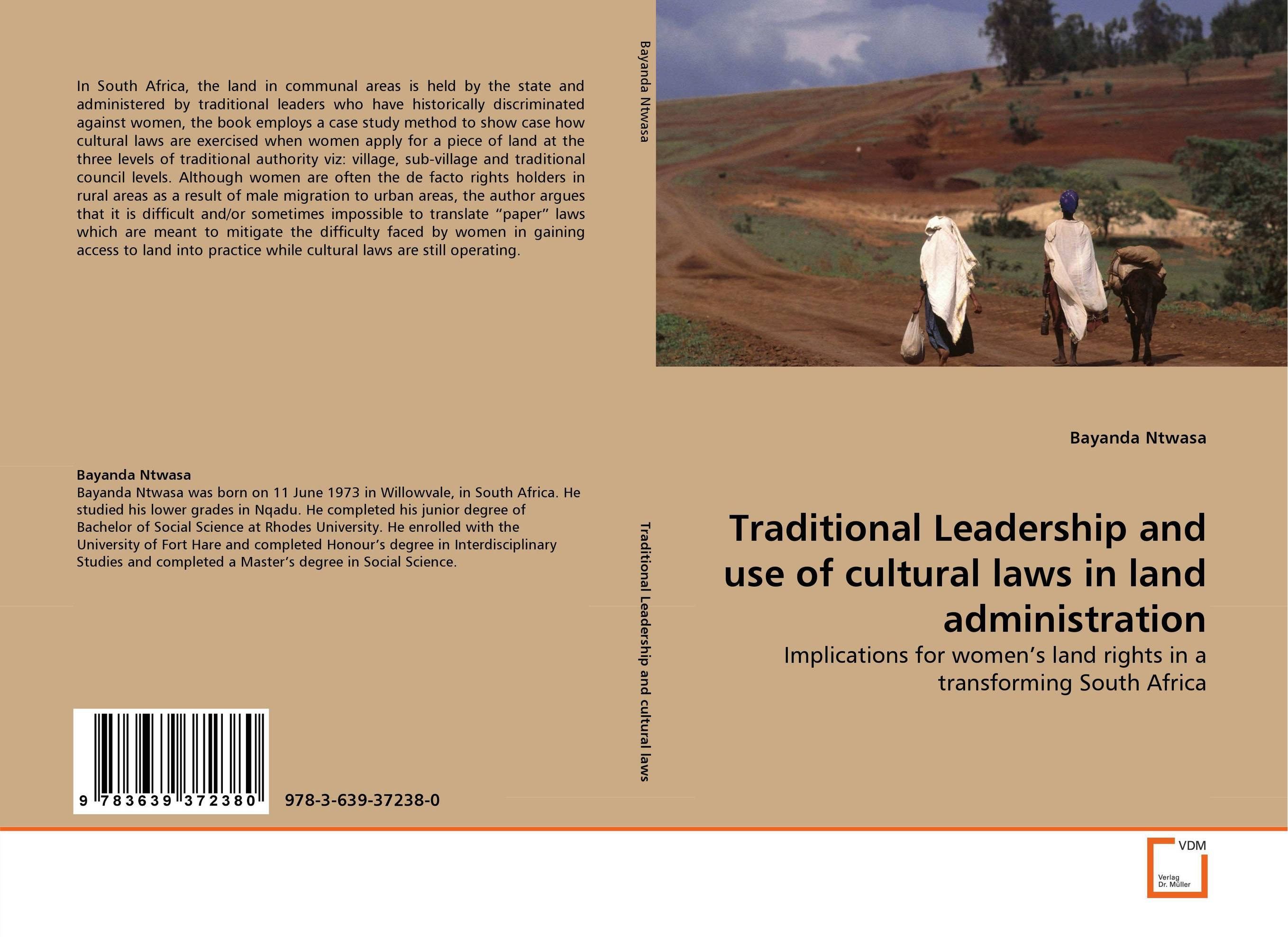 Traditional Leadership and use of cultural laws in land administration traditional house form in old calabar efik land